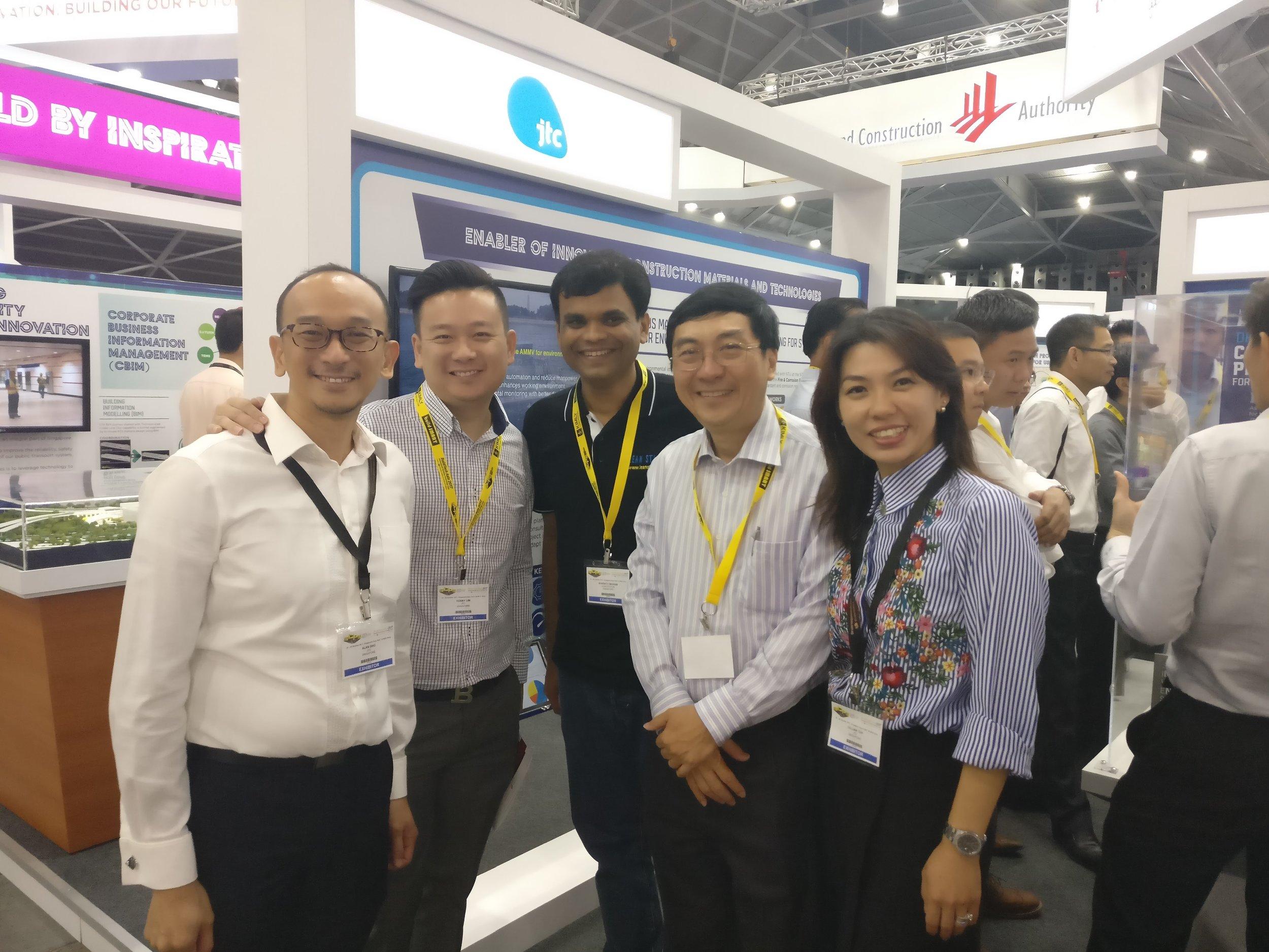 Mr. Alan Ong, Mr. Kenny Lim, Mr. Sharath Waikar, Prof. David Chua, Ms. Cillian Toh