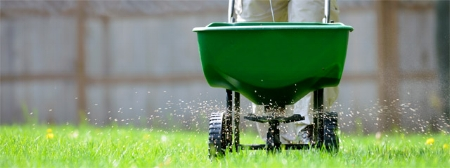 Spring fertilizing is an optimal time to provide nutrients for your grass!