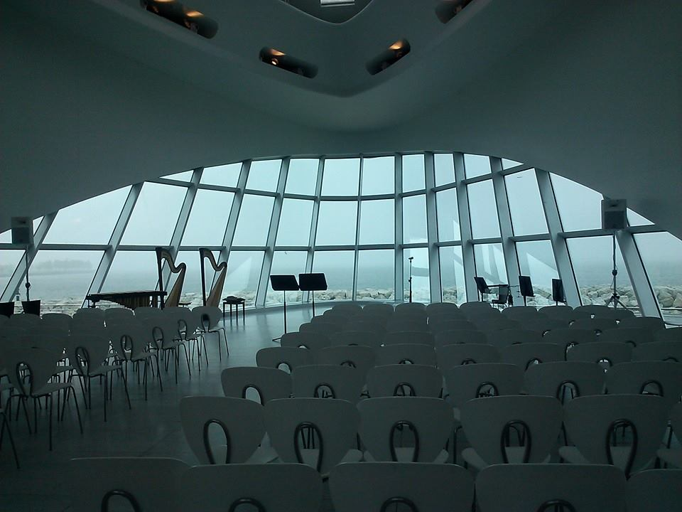 Performance with the Fresh Inc Festival at the Milwaukee Art Museum