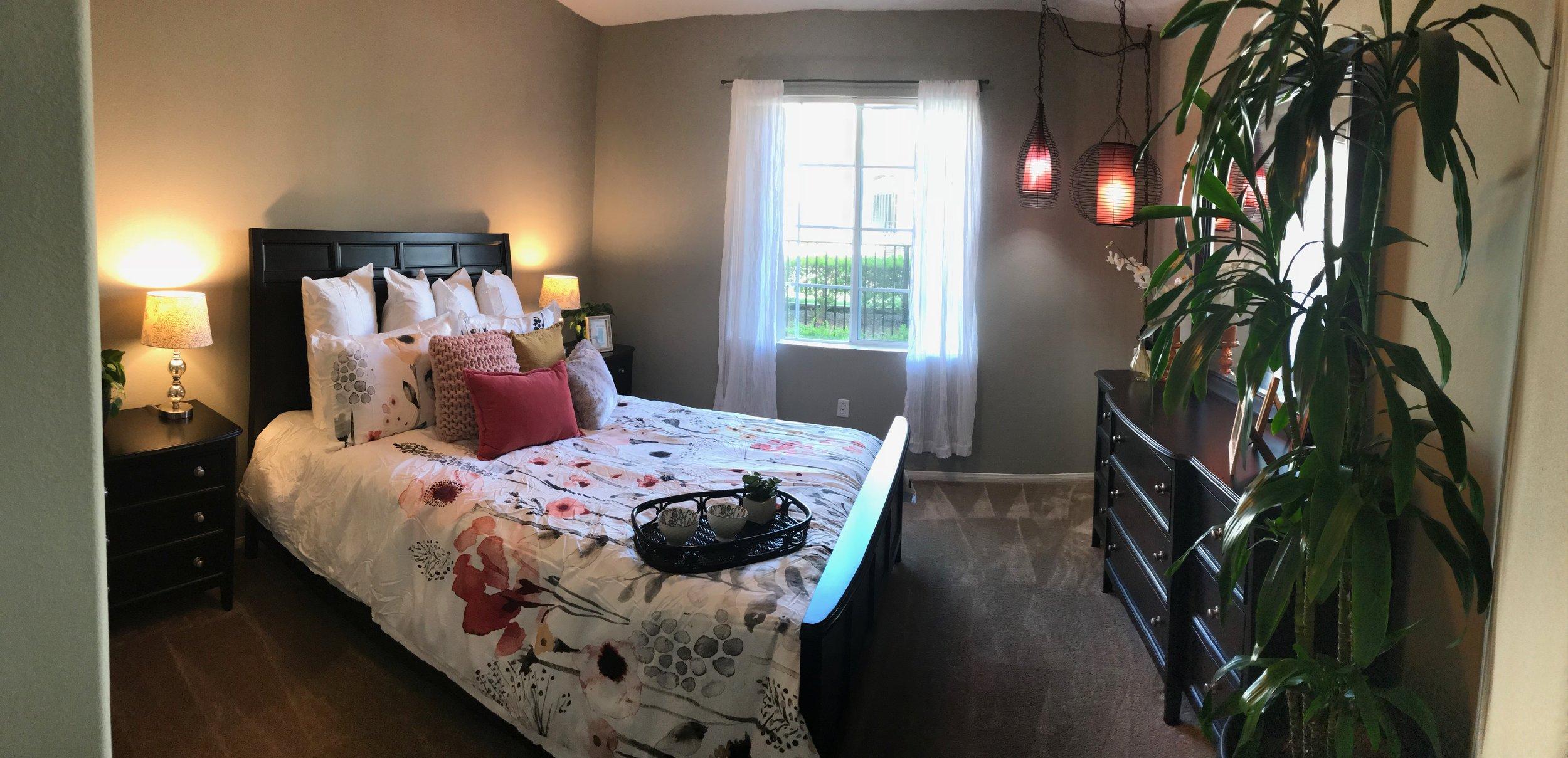 bedroom at Hilltop
