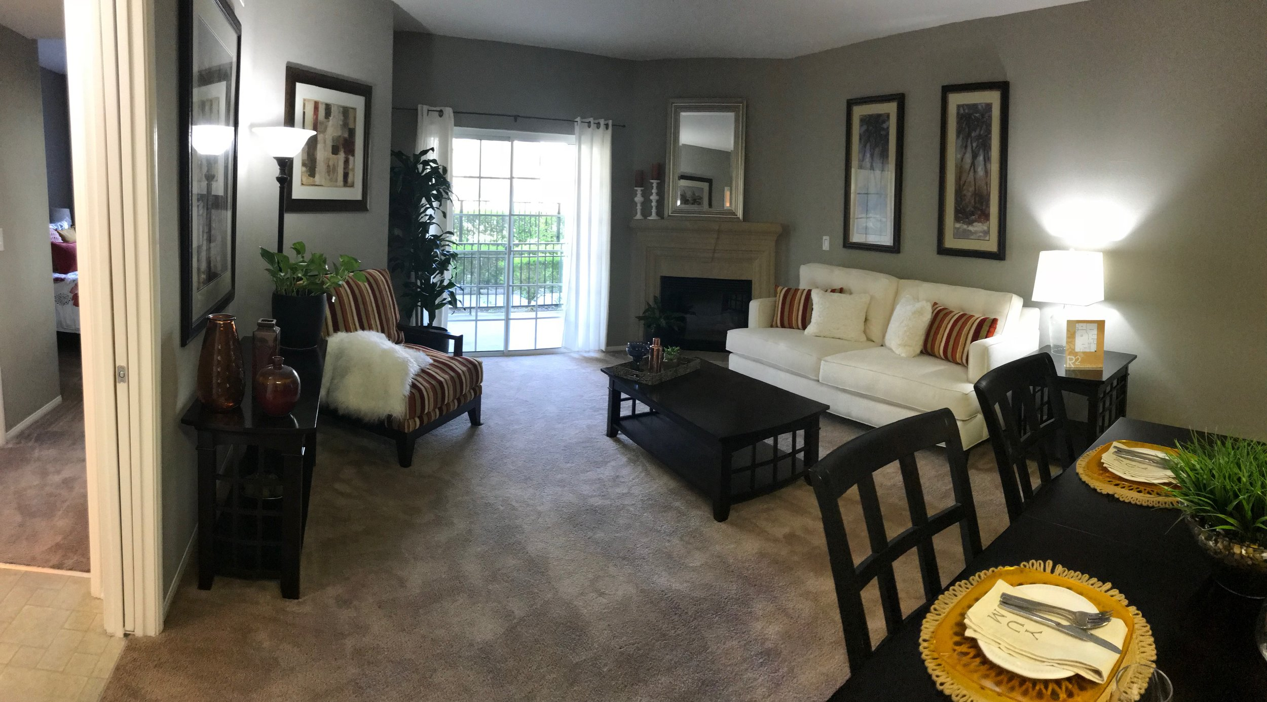 Living Room at Hilltop