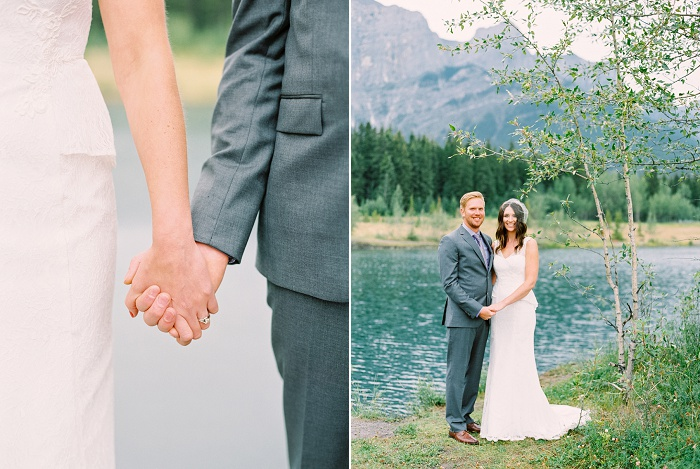 Canmore Wedding Photographer | Justine Milton Photography | Destination Wedding Photographers | Intimate Mountain Wedding