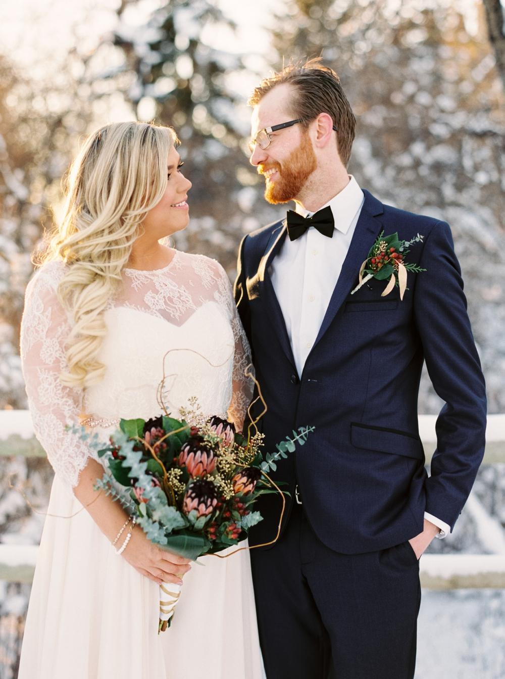 Calgary Wedding Photographers   New years Eve Wedding   Heritage Park guns Dairy Barn Wedding   Blush and Rose Gold   Winter Wedding