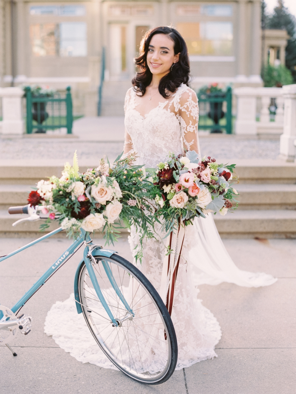 Calgary Wedding Photographers | Tuscany Italy Wedding | Canmore Banff Wedding Photography | Trendy Bride Magazine Cover