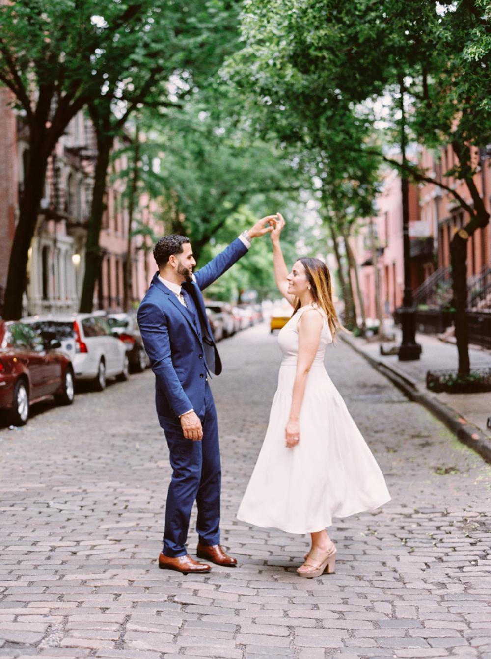 New York City High Line | Engagement Photography | Engagement Session | Amal & Muhamed | NYC Engagement Photos | Calgary Wedding Photographers