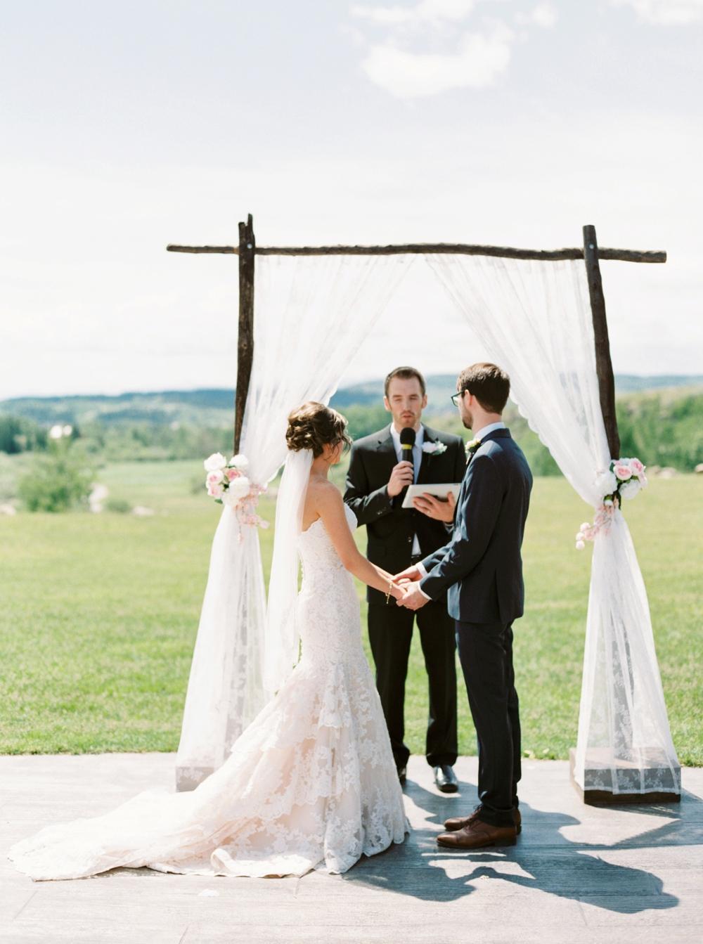 Calgary Wedding Photographers   Cochrane Ranchehouse Wedding   Cochrane wedding photography   Country wedding   outdoor wedding ceremony
