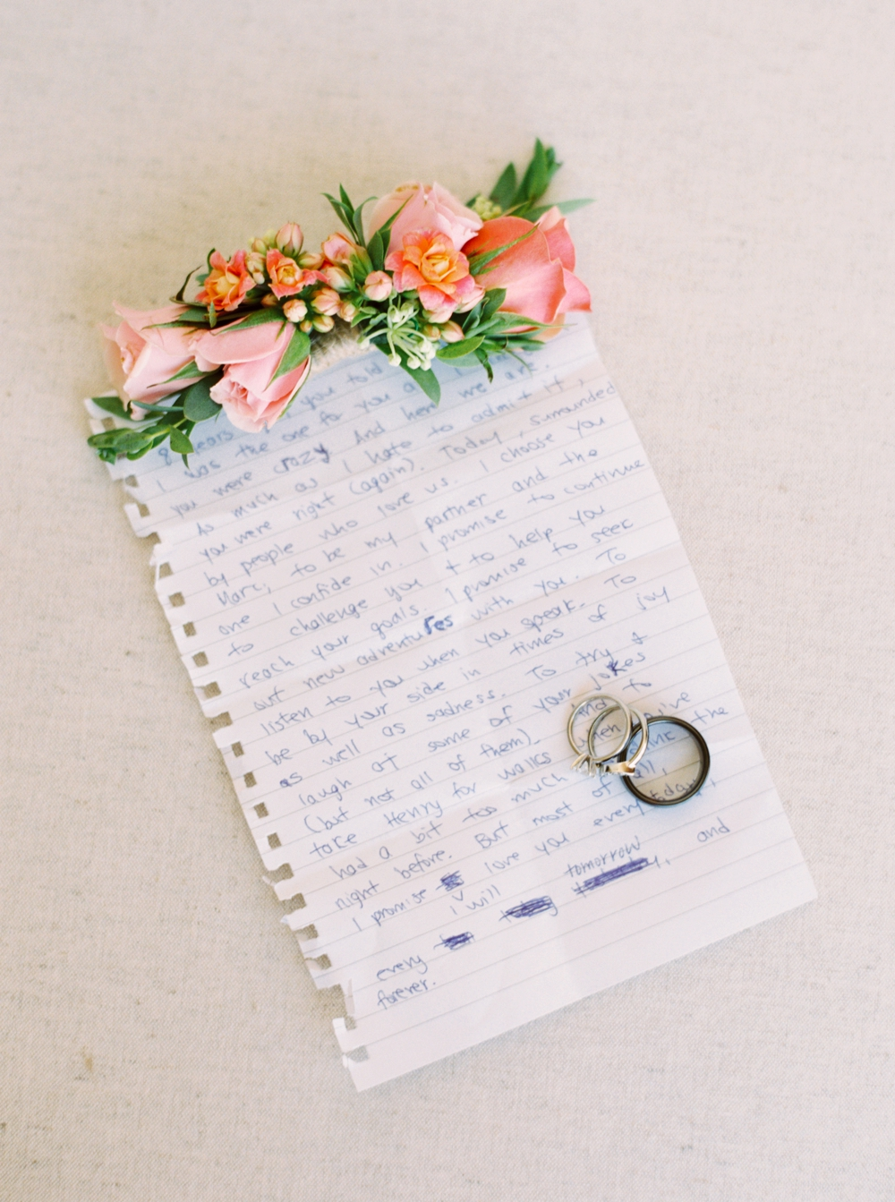 Calgary Wedding Photographer | Meadow Muse Pavilion Wedding | Canmore Photographers | hand written vows