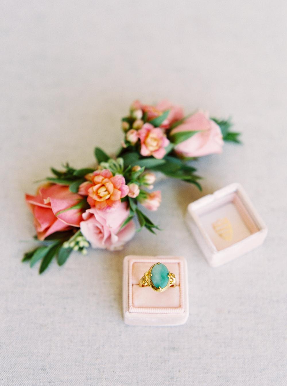 Calgary Wedding Photographer | Meadow Muse Pavilion Wedding | Canmore Photographers | Mrs Box Jade Ring
