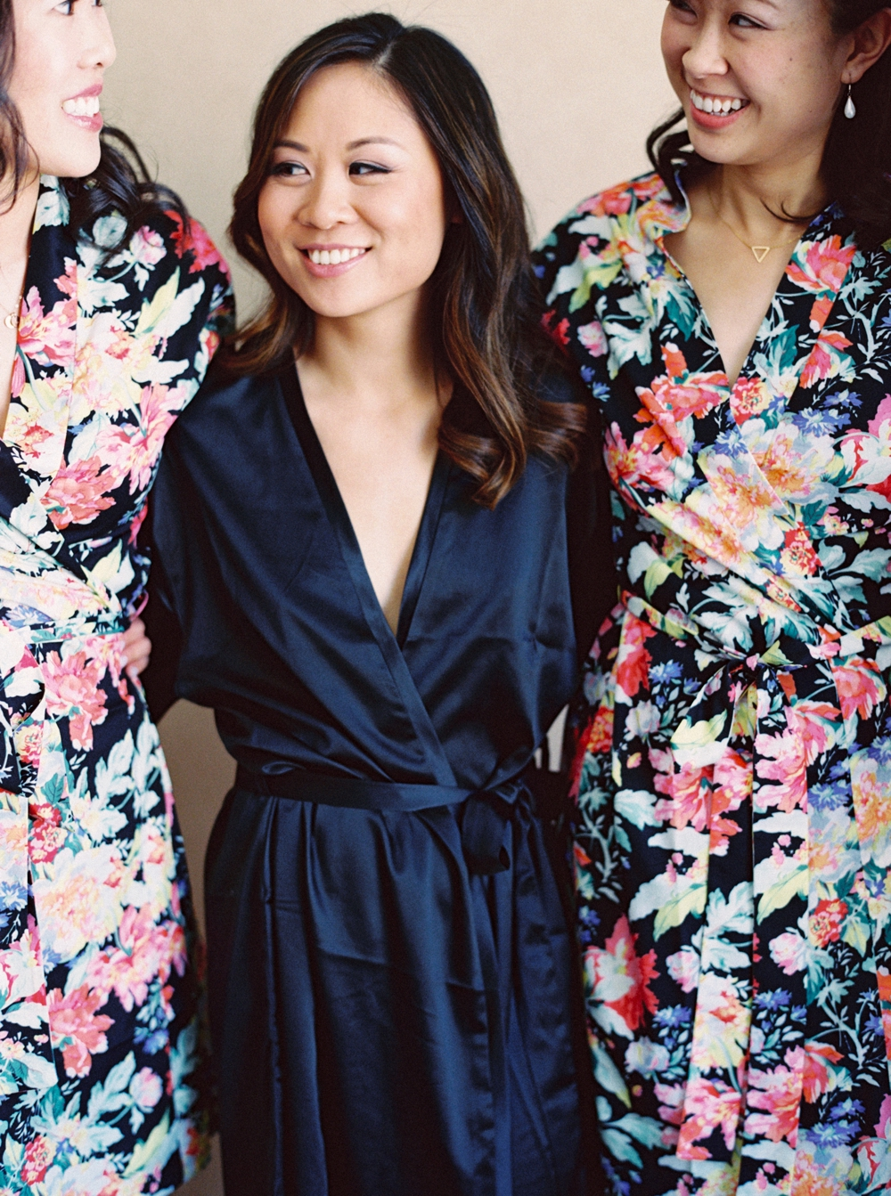 Calgary Wedding Photographer | Meadow Muse Pavilion Wedding | Canmore Photographers | bridesmaids robes