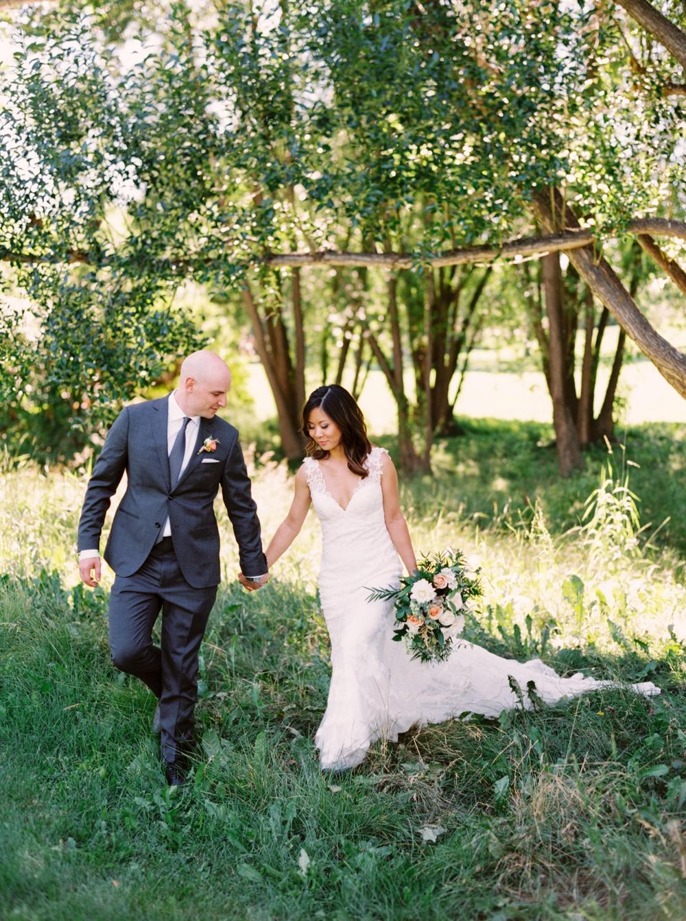 Calgary Wedding Photographer | Meadow Muse Pavilion Wedding | Canmore Photographers | Fish Creek Park | Tent Wedding