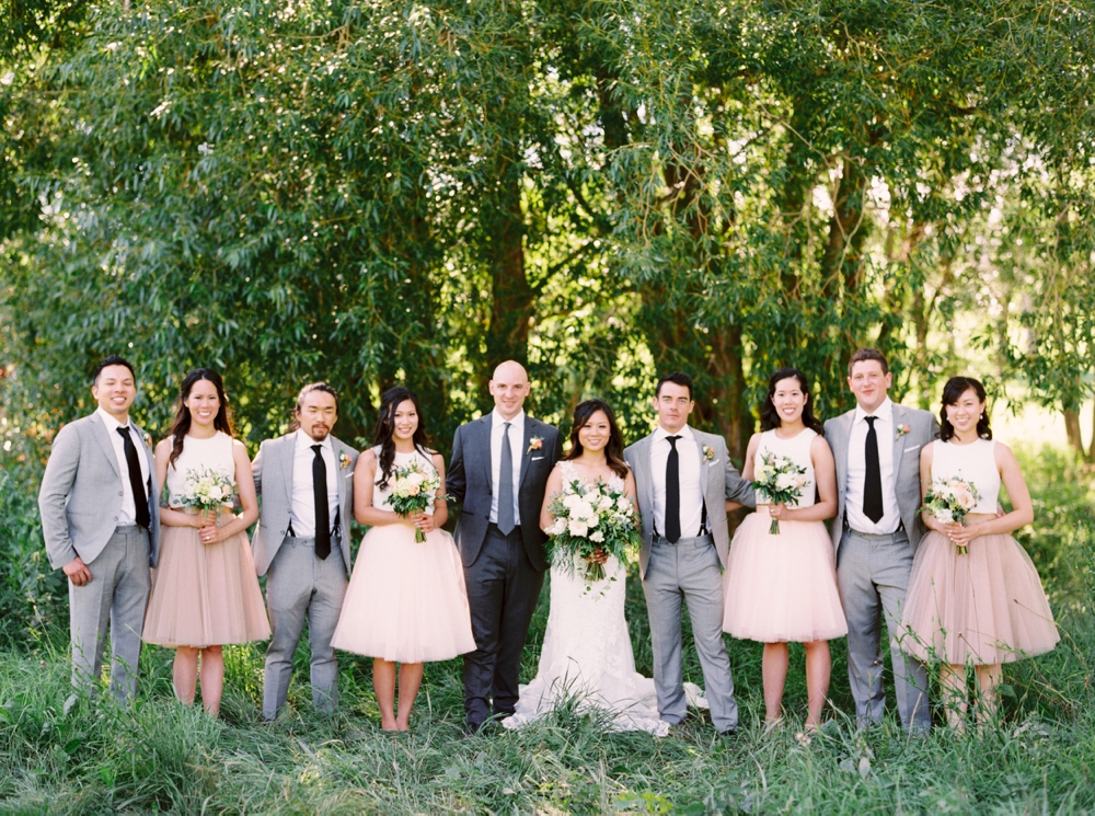 Calgary Wedding Photographer | Meadow Muse Pavilion Wedding | Canmore Photographers | Fish Creek Park | Wedding Party Photos