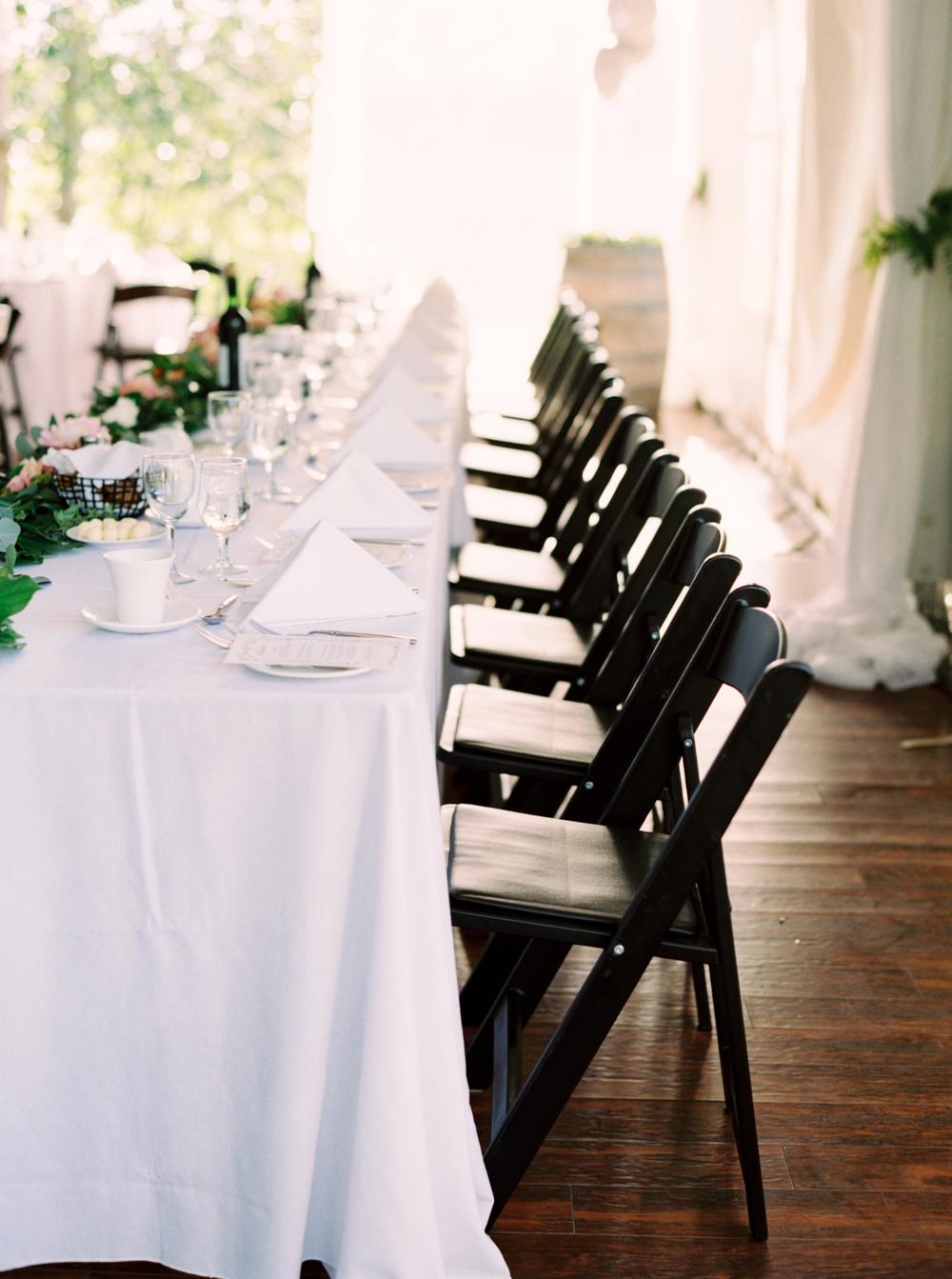 Calgary Wedding Photographer | Meadow Muse Pavilion Wedding | Canmore Photographers | Fish Creek Park | headtable