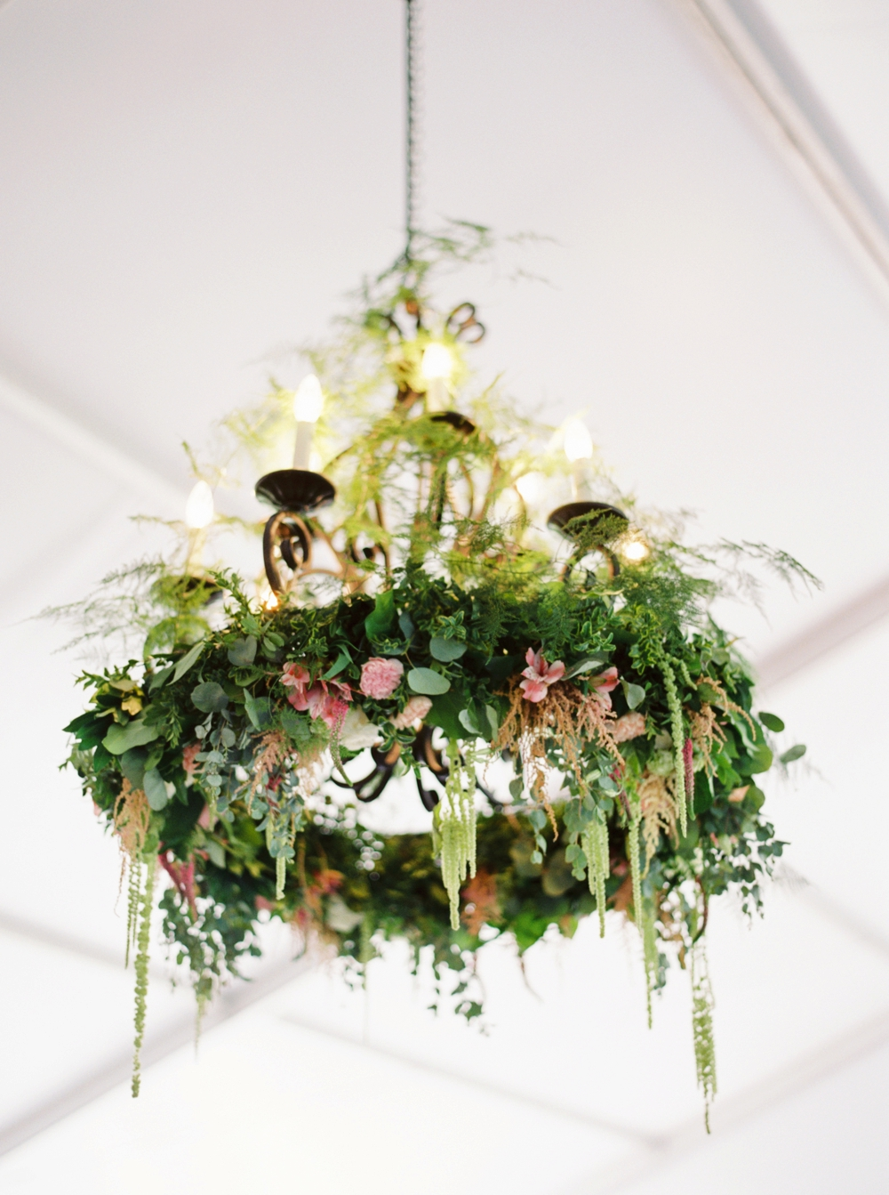 Calgary Wedding Photographer | Meadow Muse Pavilion Wedding | Canmore Photographers | Fish Creek Park | Floral Chandeliere