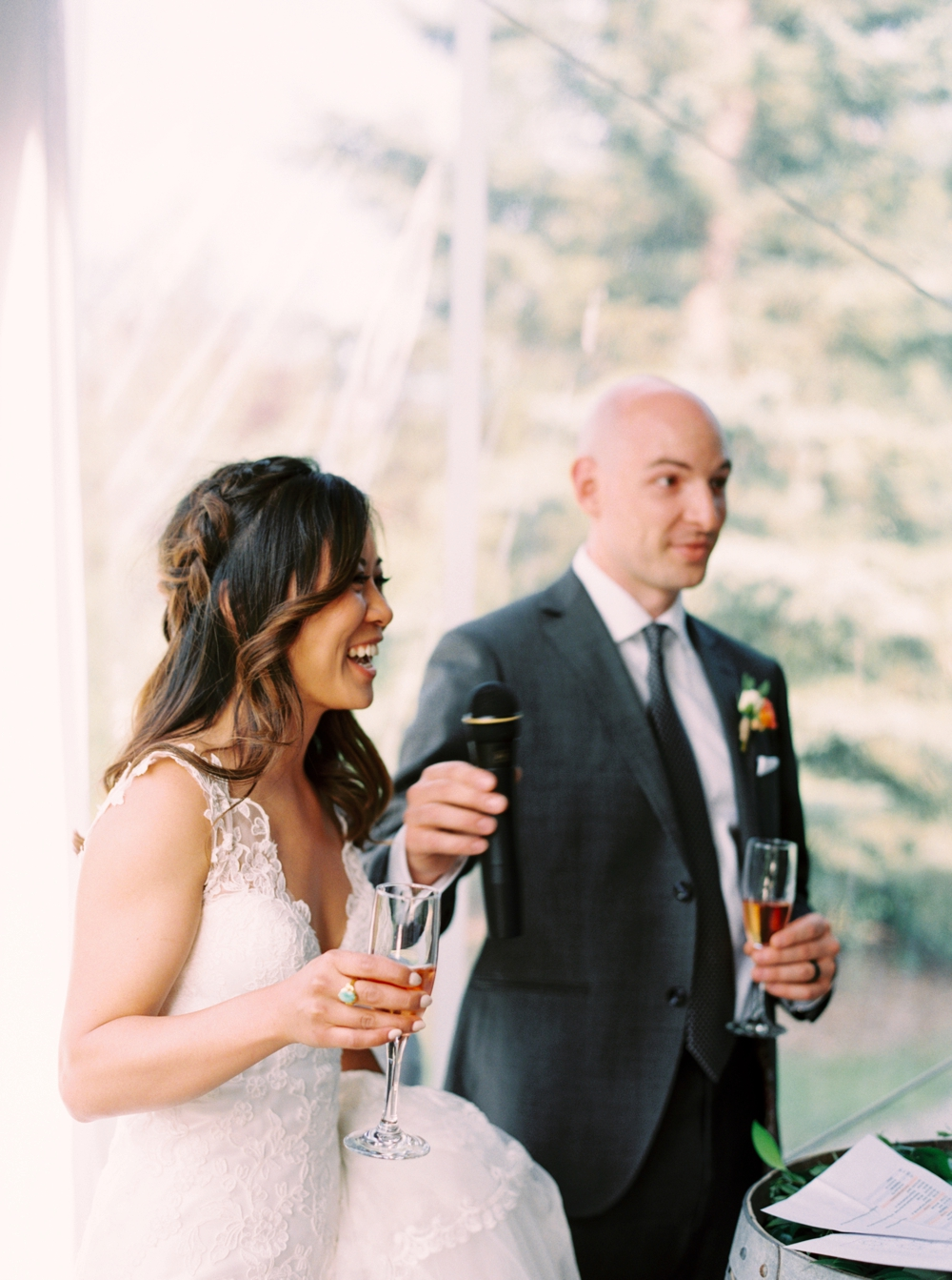 Calgary Wedding Photographer | Meadow Muse Pavilion Wedding | Canmore Photographers | Fish Creek Park Tent Wedding | Bride and groom