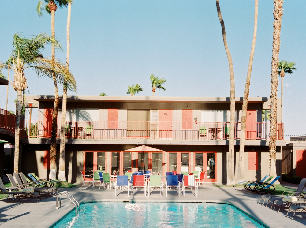 Skylark Hotel Palm Springs | California Photographer | Calgary Commercial and Advertising Photography | Hotel Photographers