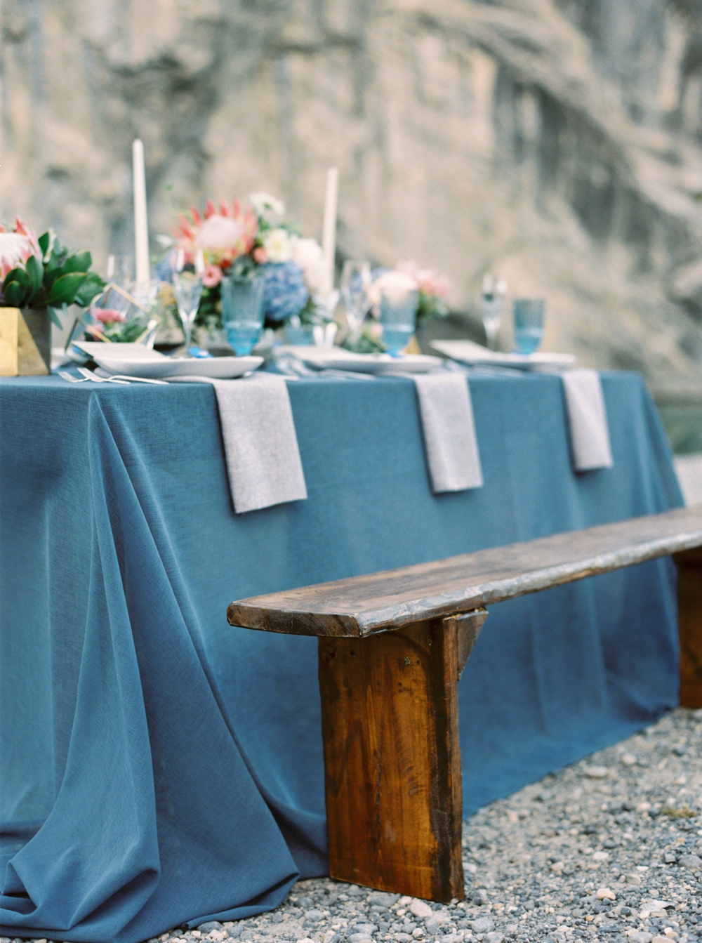 Canmore Wedding Photographers | Calgary wedding photography | Naturally Chic Weddings | Willow Flower Co. | The Bridal Boutique | Natural Blues and Greys Editorial Shoot
