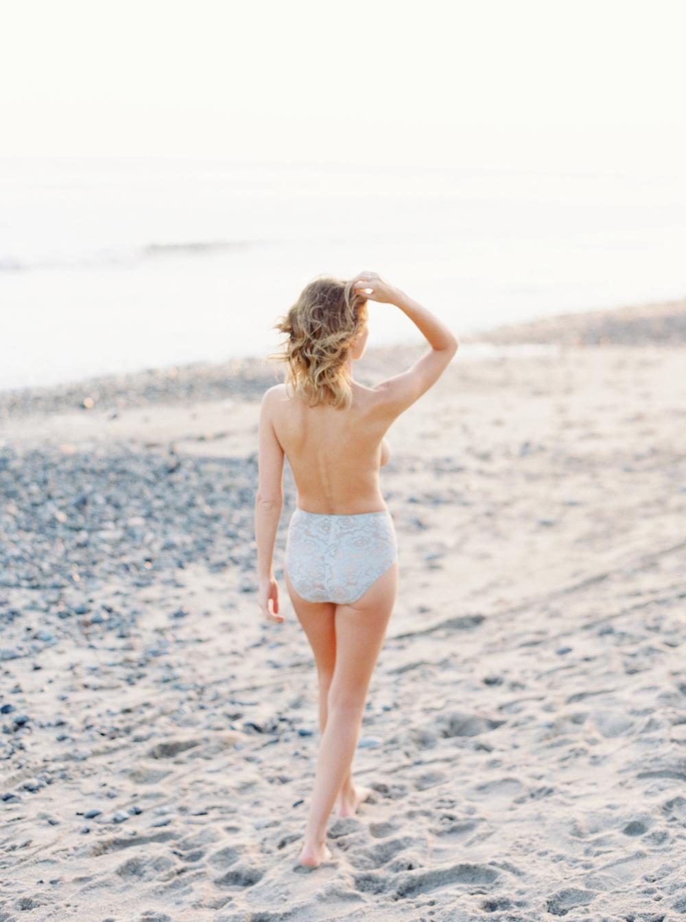 California photographer | beach boudoir session | fine art film photographer