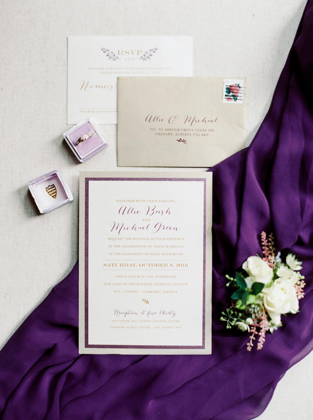 Canmore Wedding Photographers | Calgary Wedding Photography | Mountain Wedding