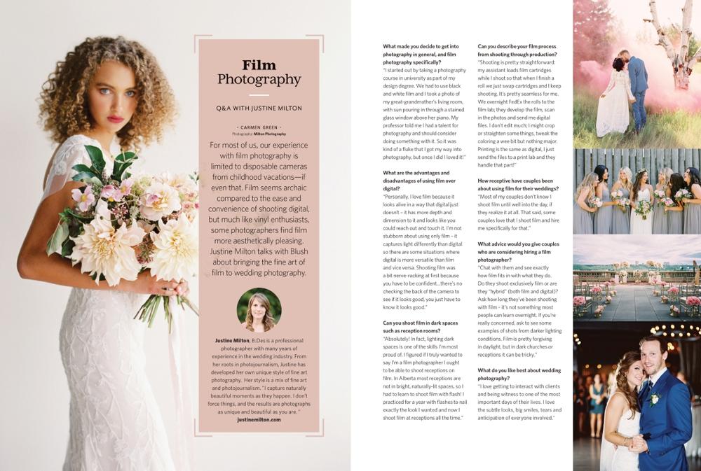 calgary wedding photographers   film photography