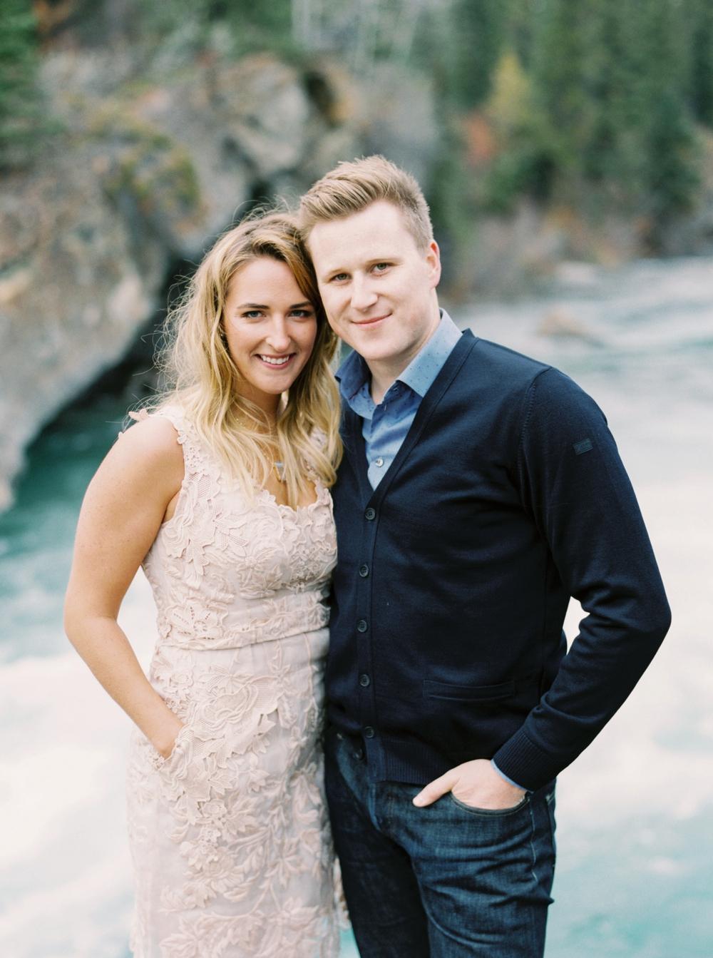 kananaskis engagement session | mountain engagement photographers | calgary wedding photographer | Justine Milton photography