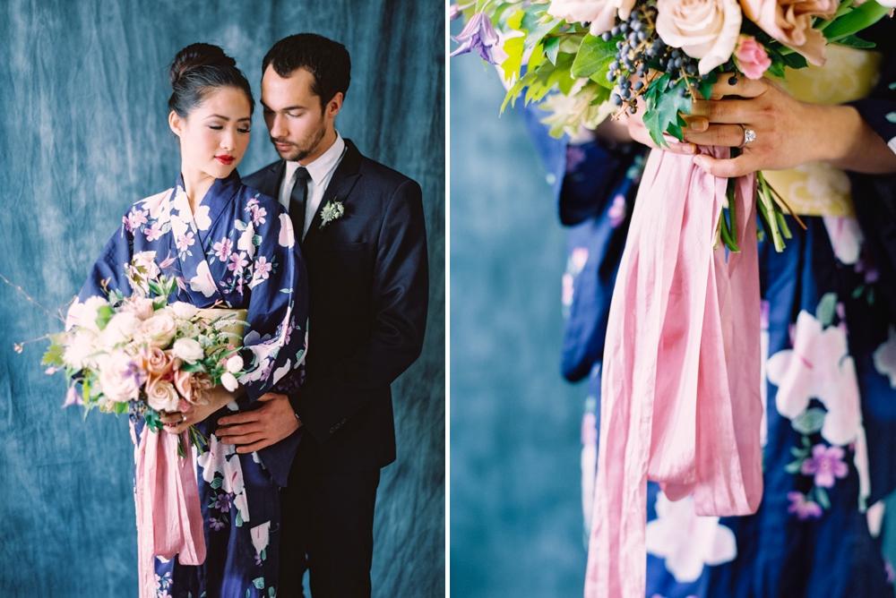 Trendy Bride Magazine | Modern Asian Styled Shoot | Fine Art Film Wedding Photographers | Dark and Moody Photography