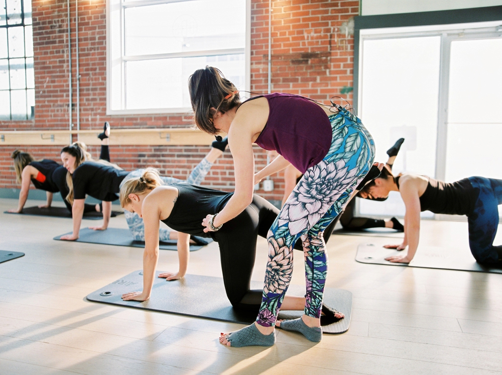 Barre Body Studio   Exercise Photography   Commercial Photographers