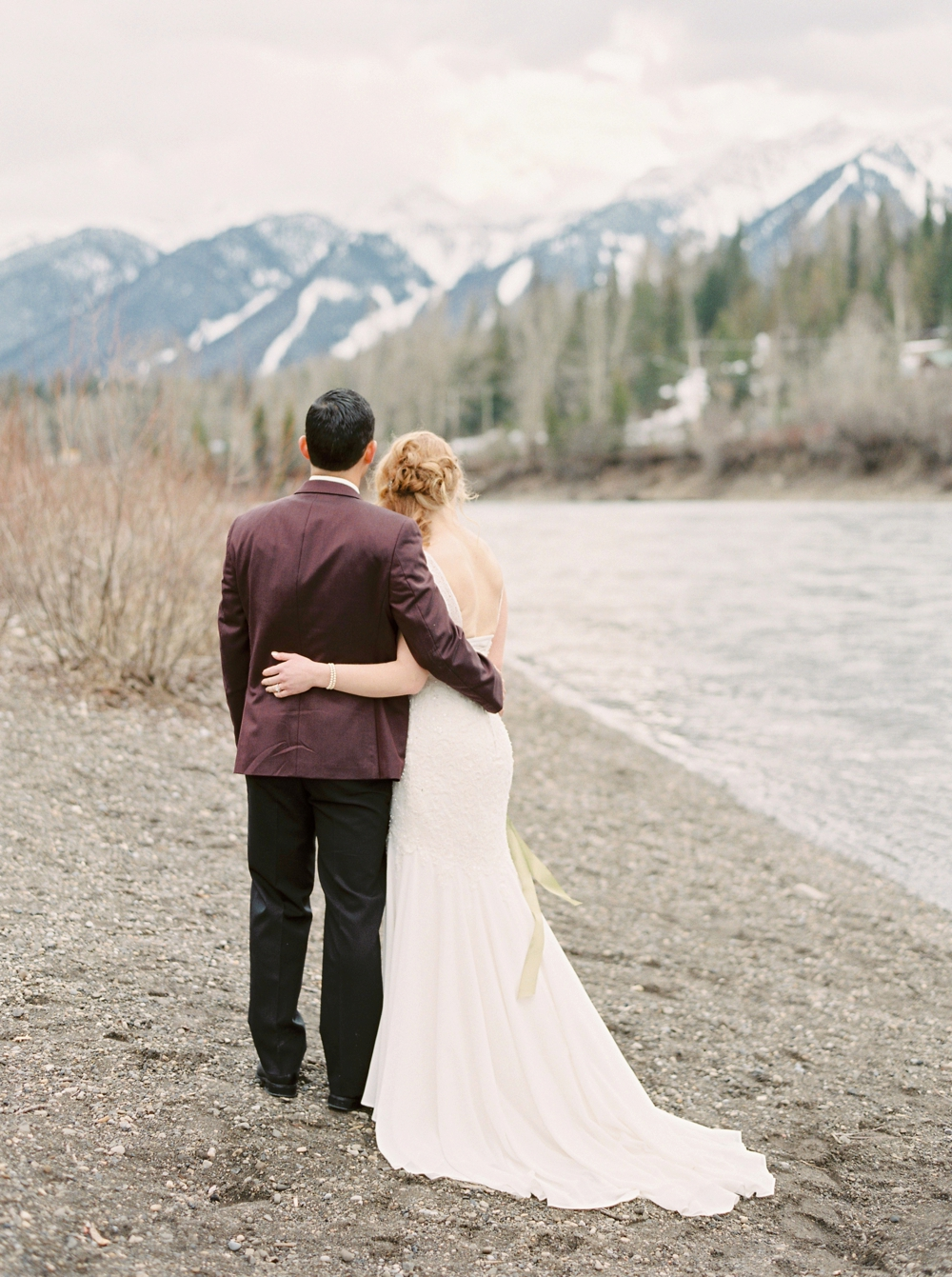 Calgary Wedding Photographers | Fernie British Columbia Winter Wedding