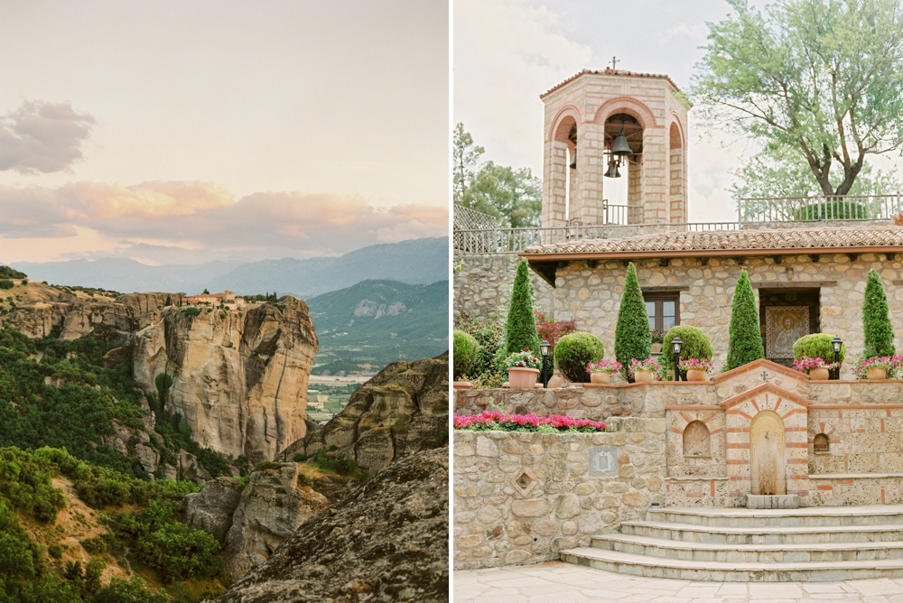 Calgary wedding photographers | Greece Meteora travel photography | unique places to see in greece | Greece Santorini wedding photographer