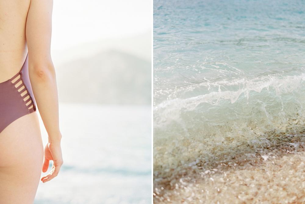 Greece Santorini Corfu destination wedding photographers   corfu beach travel photography