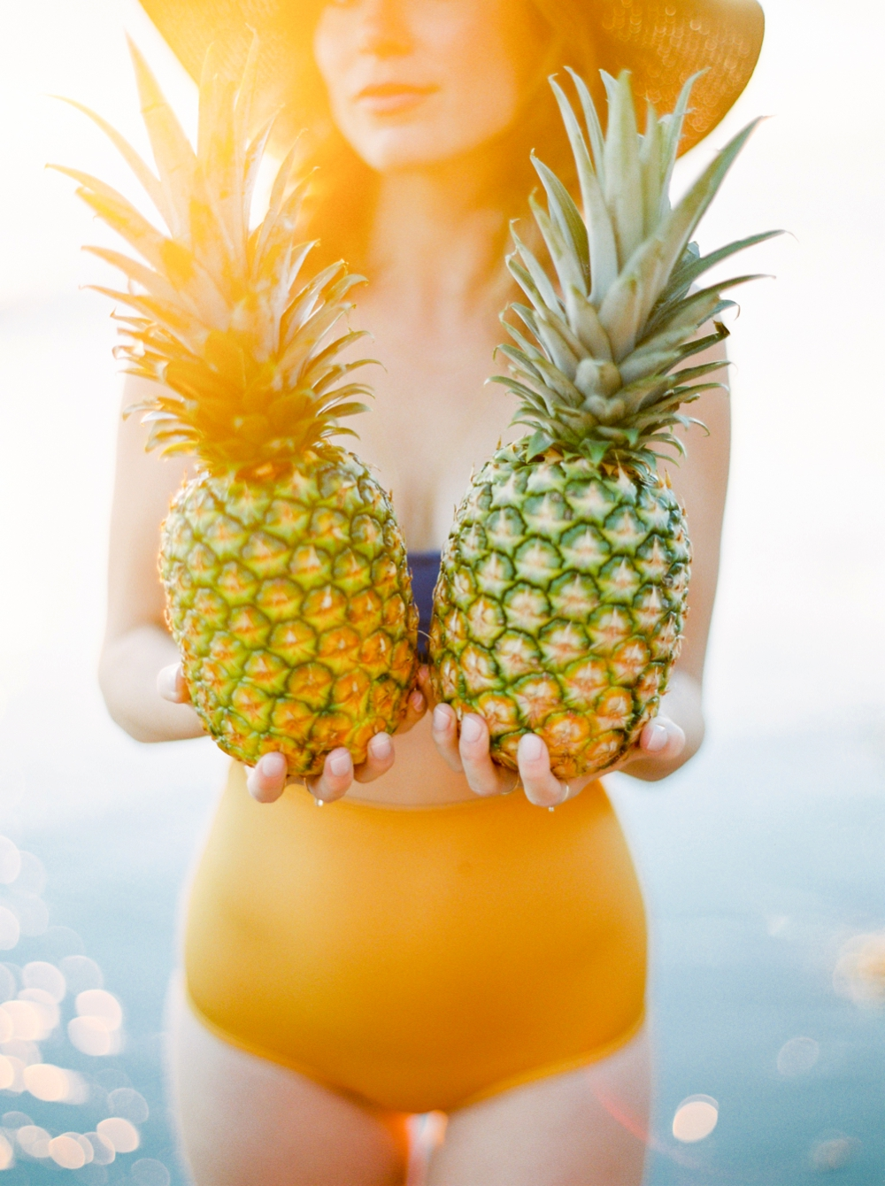 Oregon wedding photographers | Cannon Beach Hug Point Devil's Punch Bowl Oregon Coast | canadian fashion bloggers | sunkissed summer pineapple swimsuit