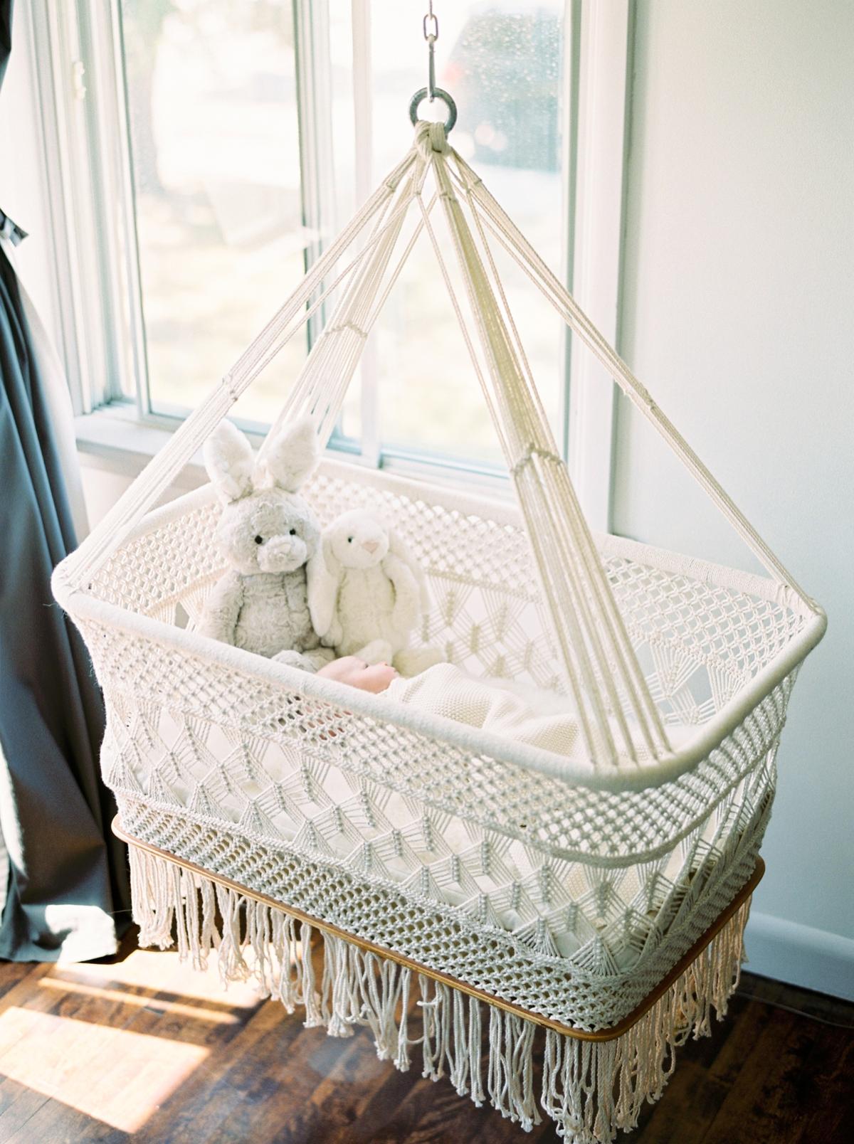 Calgary Newborn Film Photographers | Calgary lifestyle family sessions | Justine Milton Photography | Baby Nursery