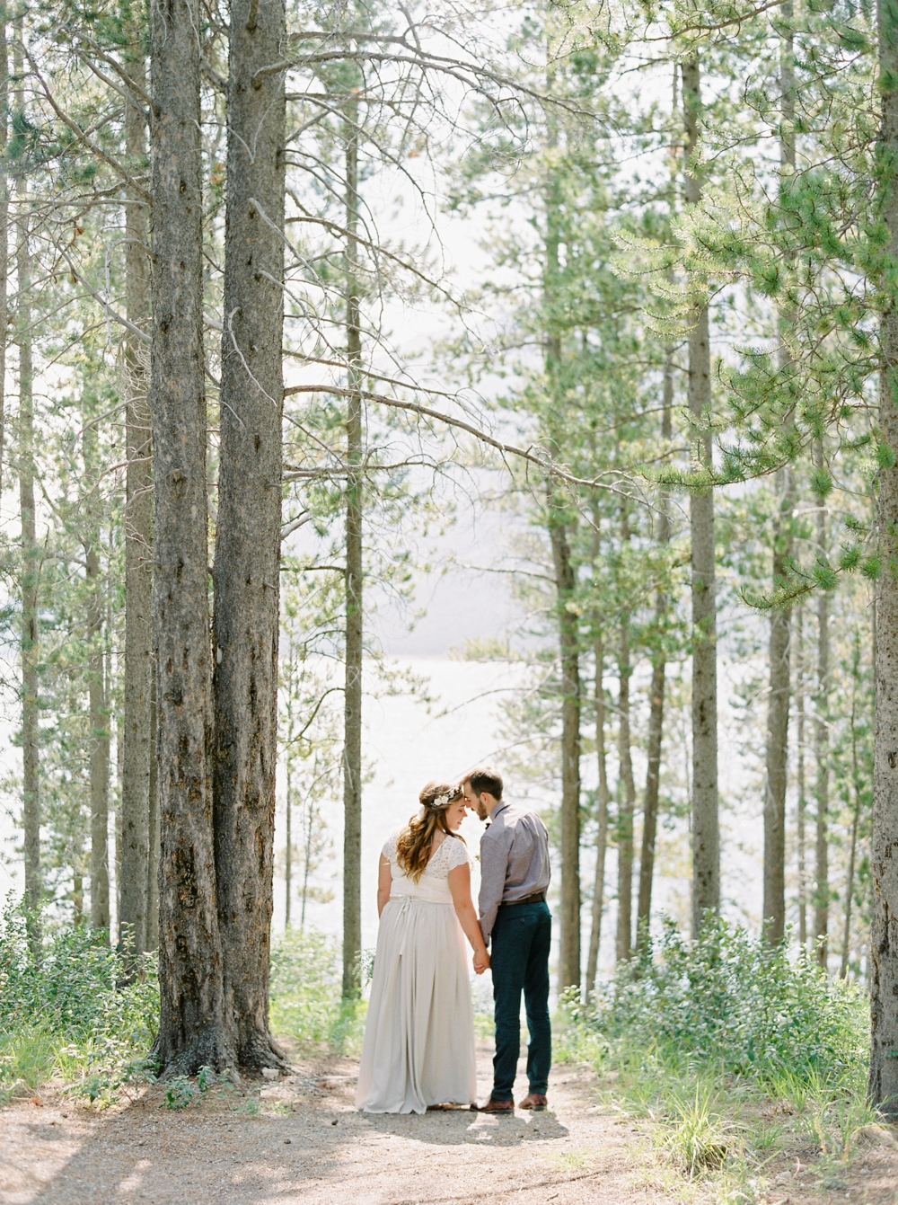 Calgary Canmore and Banff Rocky Mountain Wedding Photographer | Kananaskis Mountain Intimate wedding elopement | Justine Milton Photography