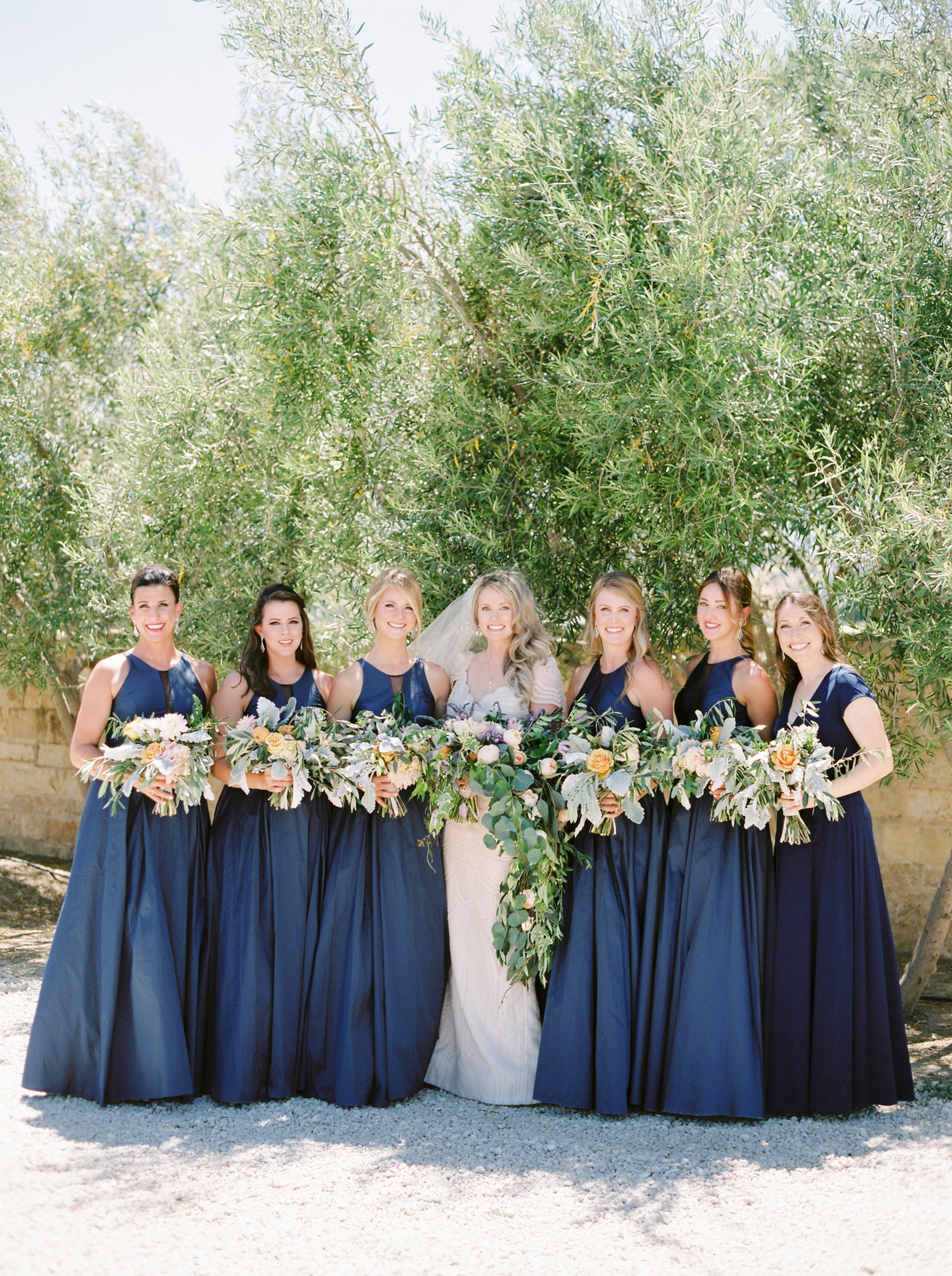 Sunstone Winery and Villa | California Wedding Photographers | Santa Barbara Wedding Photography | Santa Ynez Wedding | Justine Milton Photographer | Fine Art Film | Wedding Party