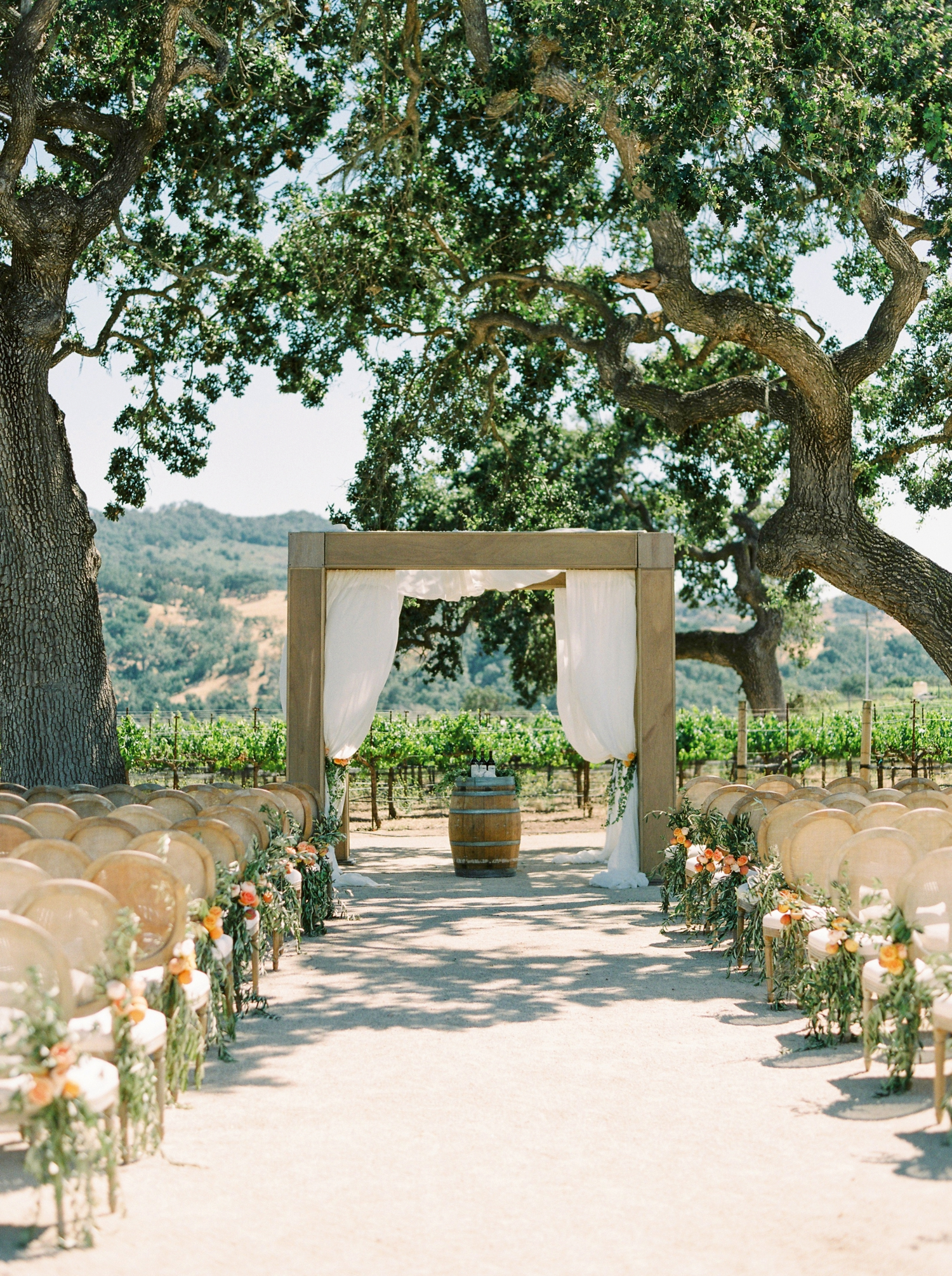 Sunstone Winery and Villa | California Wedding Photographers | Santa Barbara Wedding Photography | Santa Ynez Wedding | Justine Milton Photographer | Fine Art Film | Ceremony Details