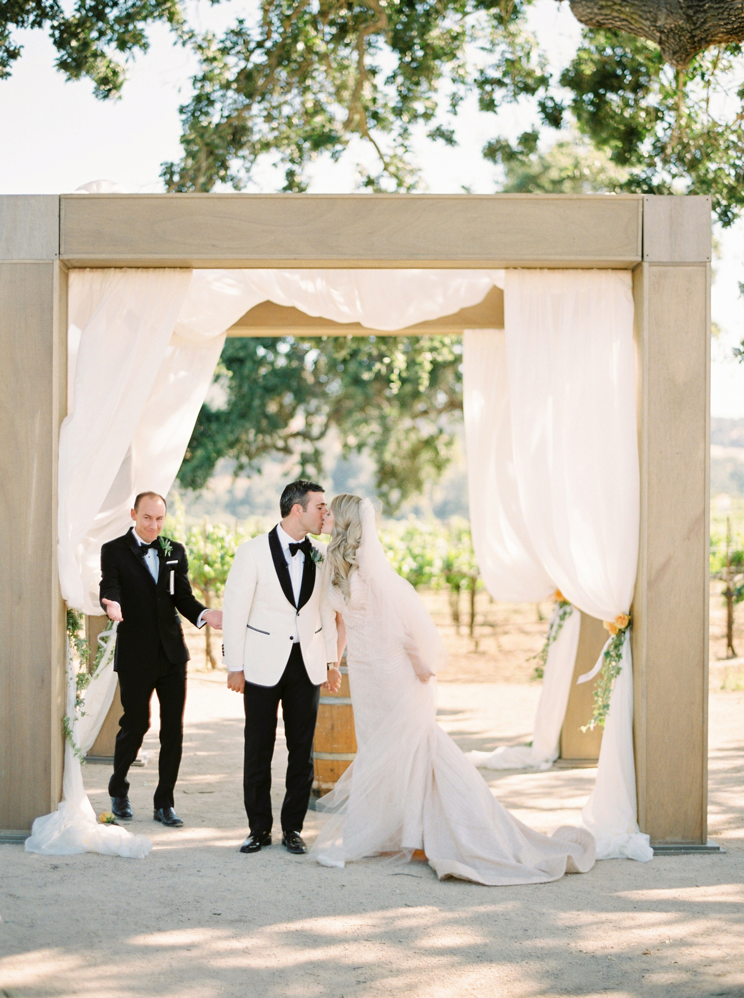 Sunstone Winery and Villa | California Wedding Photographers | Santa Barbara Wedding Photography | Santa Ynez Wedding | Justine Milton Photographer | Fine Art Film | Wedding Ceremony