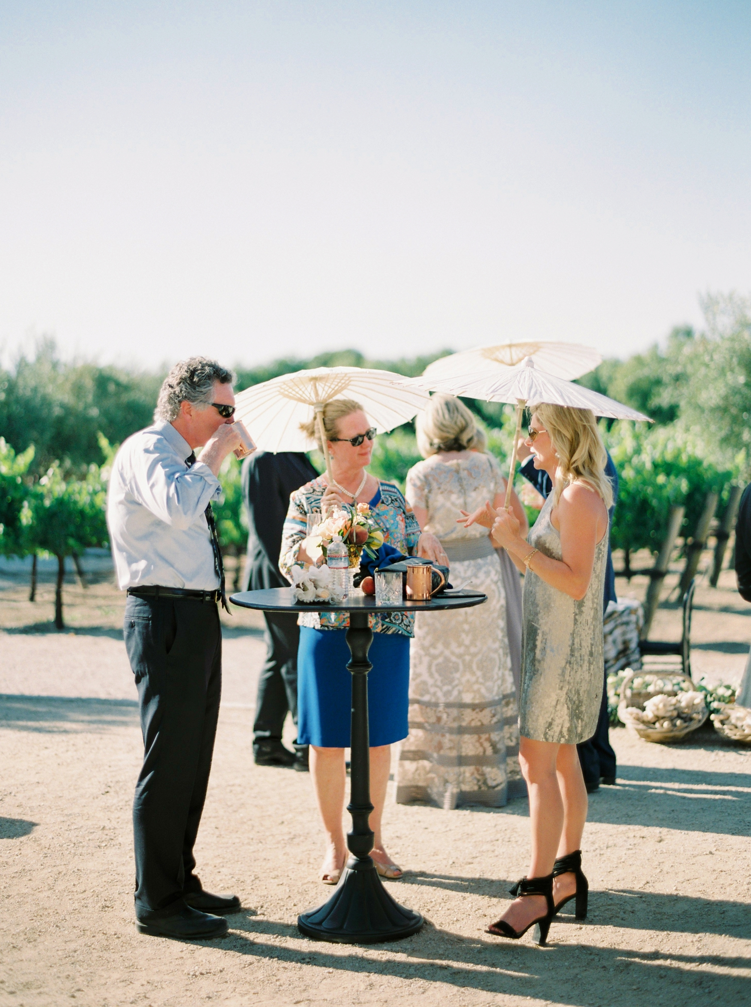 Sunstone Winery and Villa | California Wedding Photographers | Santa Barbara Wedding Photography | Santa Ynez Wedding | Justine Milton Photographer | Fine Art Film | Cocktail Decor