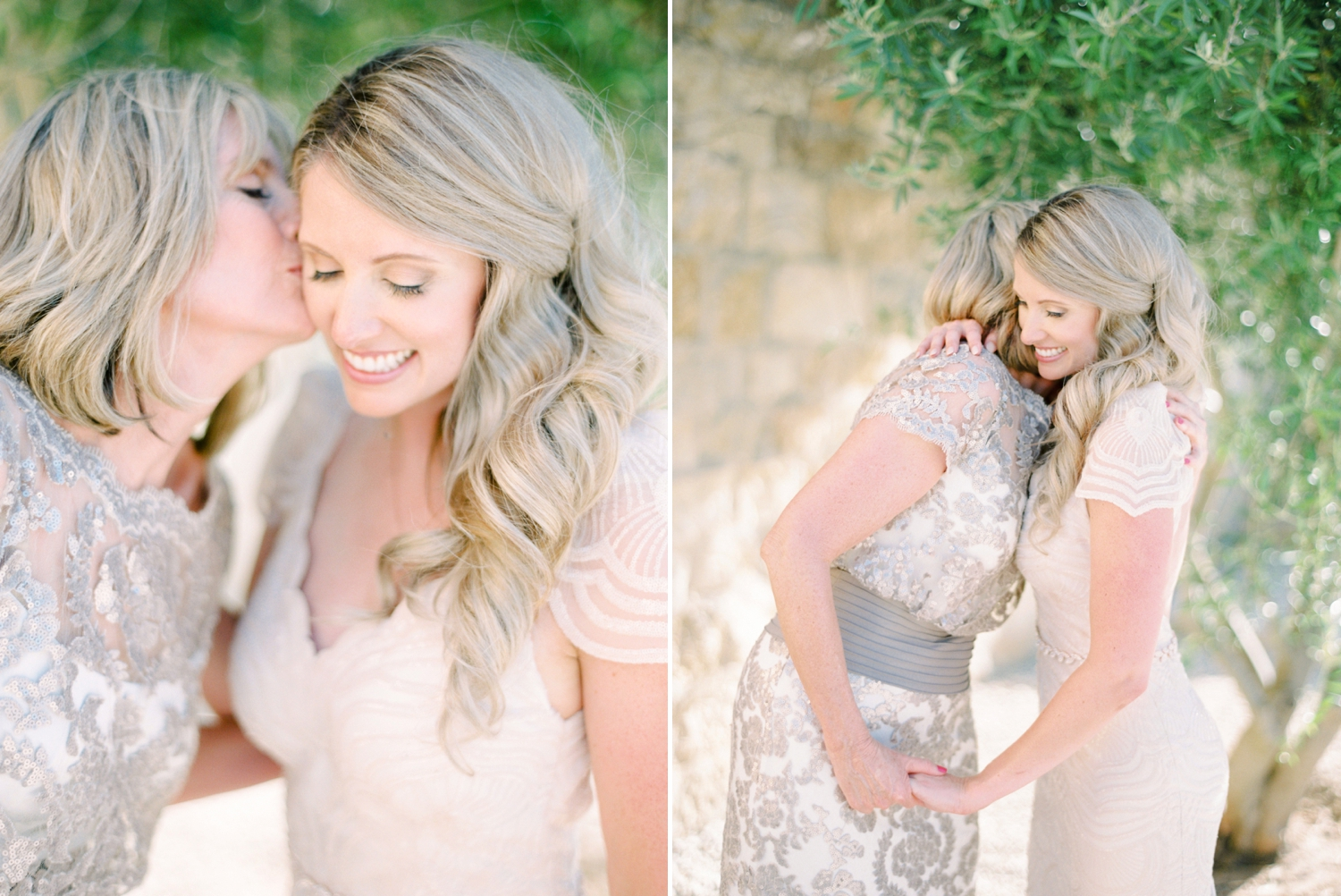 Sunstone Winery and Villa | California Wedding Photographers | Santa Barbara Wedding Photography | Santa Ynez Wedding | Justine Milton Photographer | Fine Art Film | Bride and mom