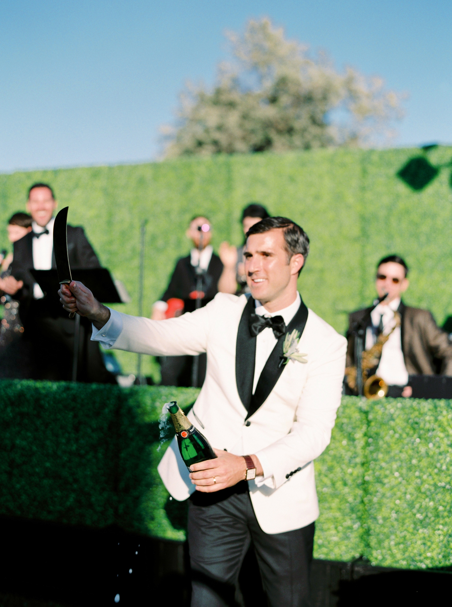 Sunstone Winery and Villa | California Wedding Photographers | Santa Barbara Wedding Photography | Santa Ynez Wedding | Justine Milton Photographer | Fine Art Film | Champagne Saber