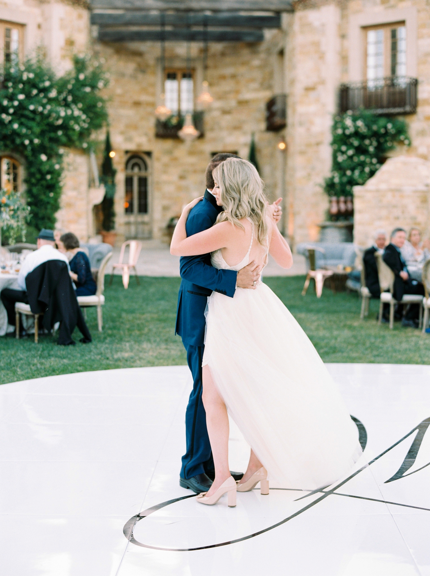 Sunstone Winery and Villa | California Wedding Photographers | Santa Barbara Wedding Photography | Santa Ynez Wedding | Justine Milton Photographer | Fine Art Film | Father Daughter Dance