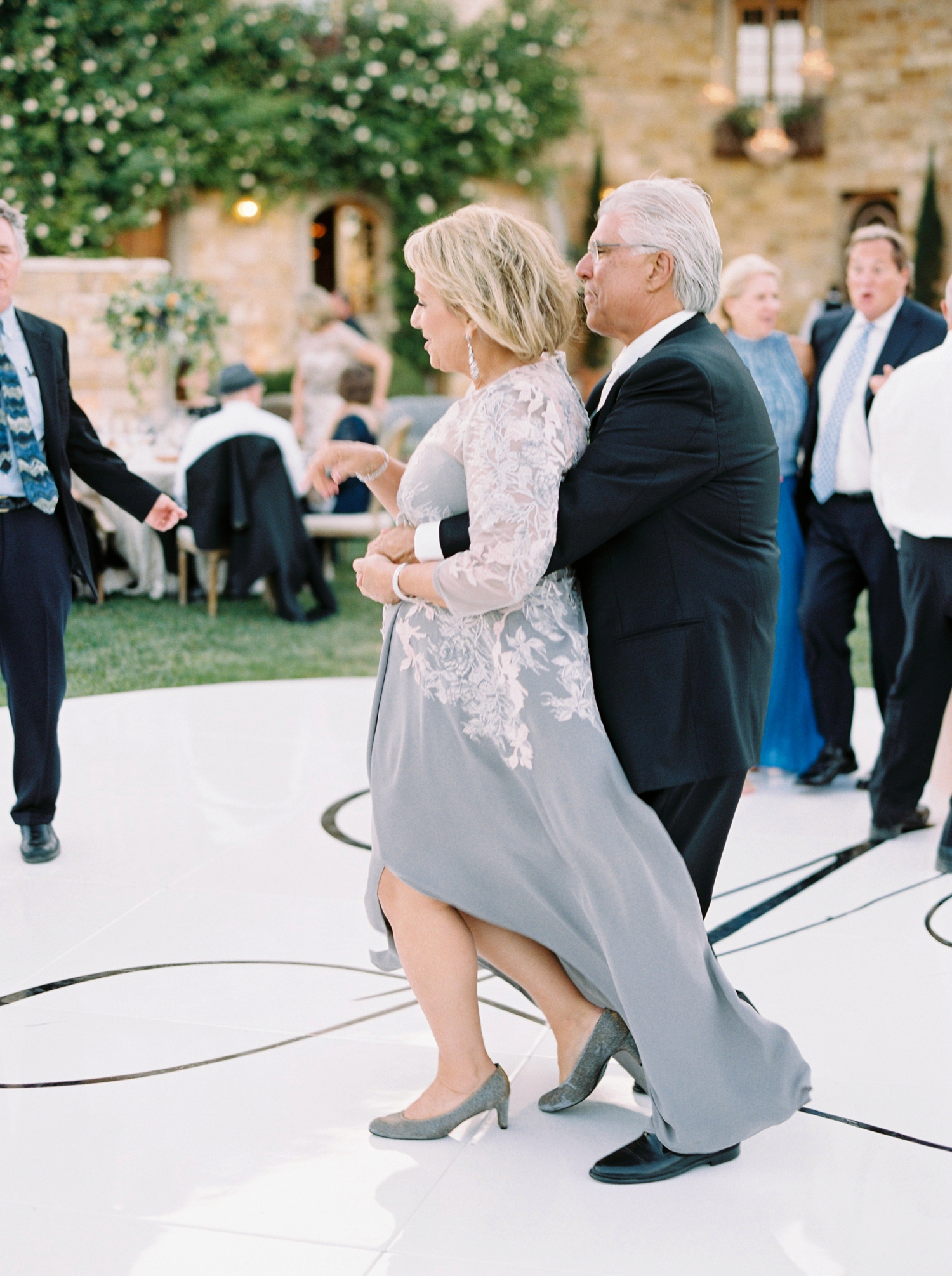 Sunstone Winery and Villa | California Wedding Photographers | Santa Barbara Wedding Photography | Santa Ynez Wedding | Justine Milton Photographer | Fine Art Film | Wedding Reception Dancing