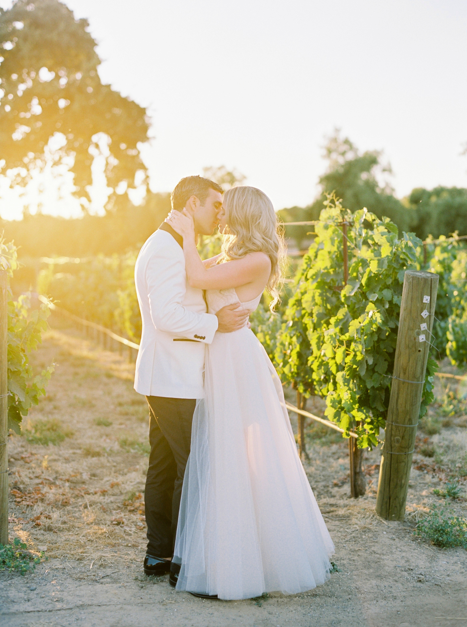 Sunstone Winery and Villa | California Wedding Photographers | Santa Barbara Wedding Photography | Santa Ynez Wedding | Justine Milton Photographer | Fine Art Film | Sunset Portraits