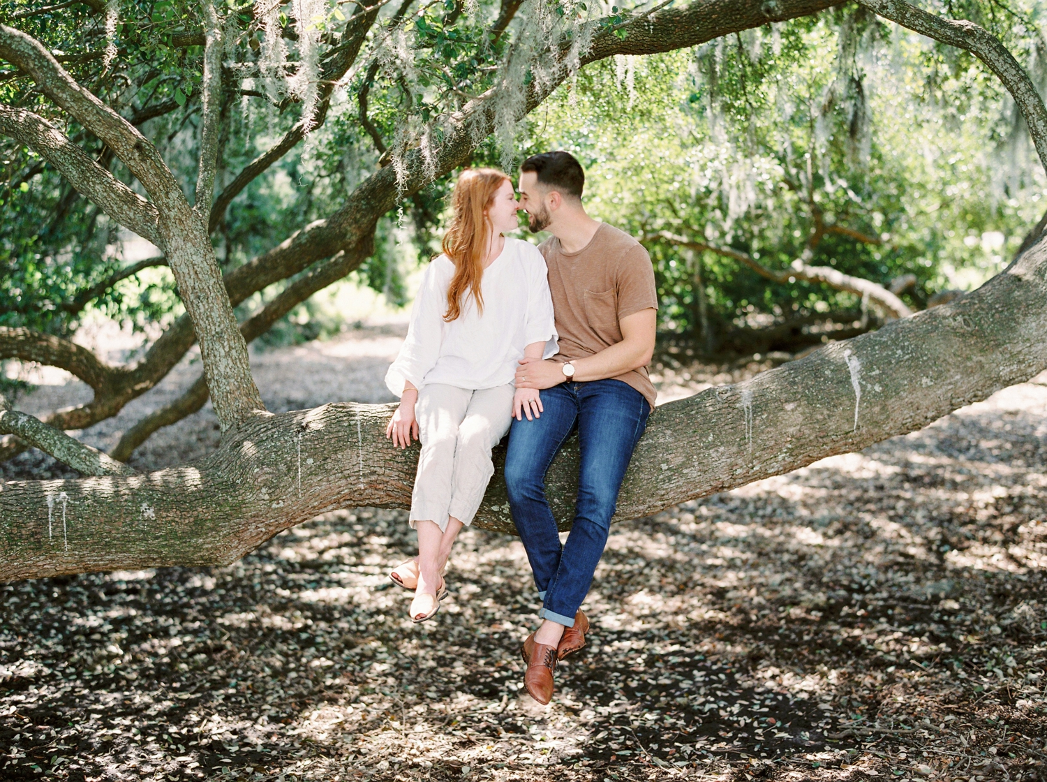 on wedding photographers | charleston anniversary | Justine Milton fine art film Photography | south carolina anniversary | fine art film photography | couples