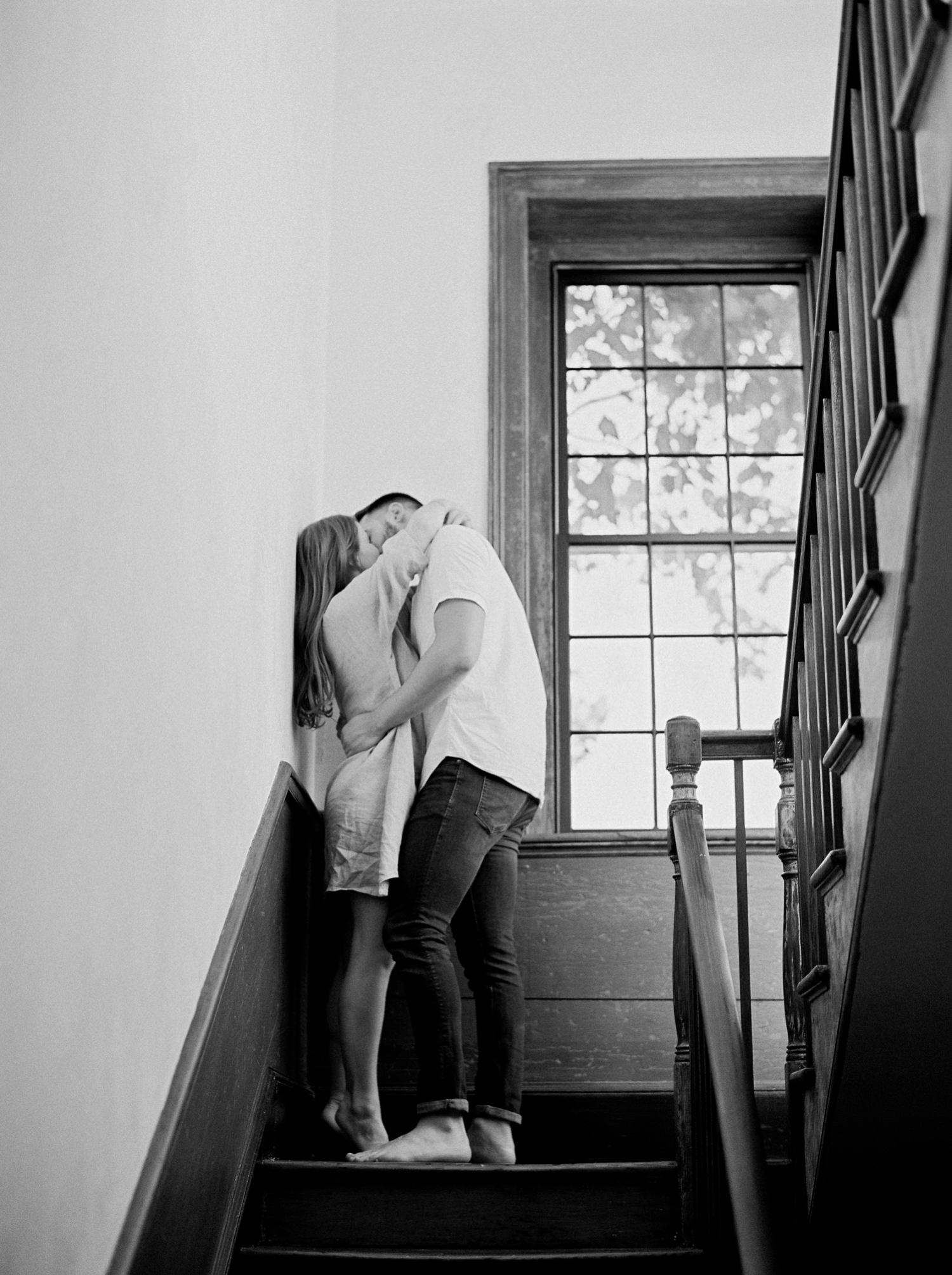 Charleston lifestyle photography | fine art film photography | couple | Calgary Wedding Photographers | Calgary couples photographer | In home session | Justine Milton Photography