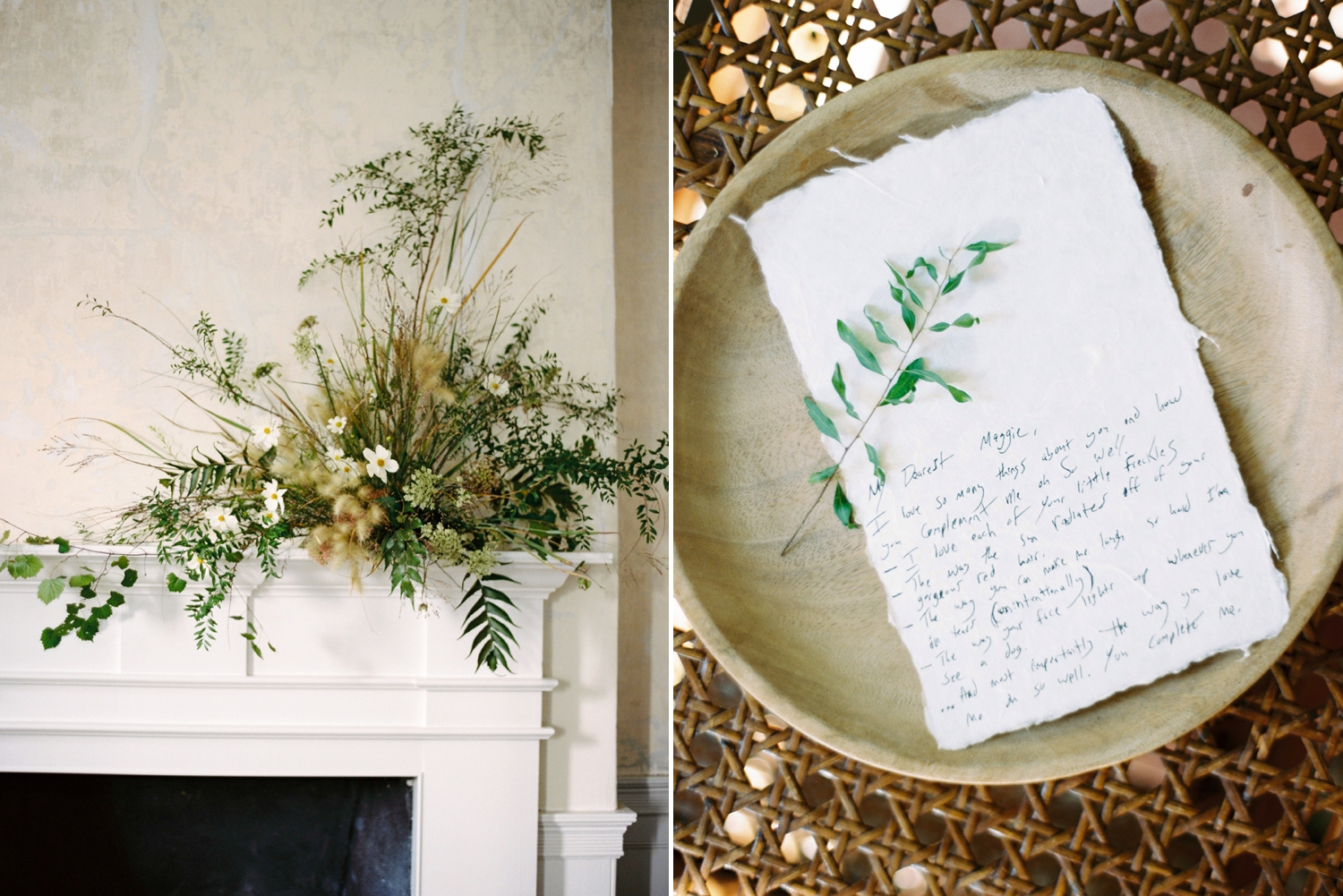 Charleston wedding photographer | anniversary session | fine art film photography | Calgary Wedding Photographers | Calgary wedding photographer | Justine Milton Photography | flowers | letter