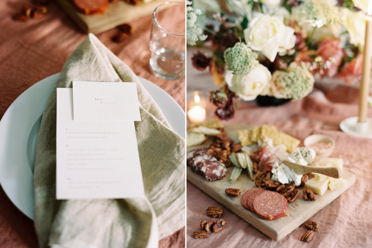 Charleston wedding photographer | anniversary dinner | fine art film photography | Calgary Wedding Photographers | Calgary couples photographer | Justine Milton Photography | decor |