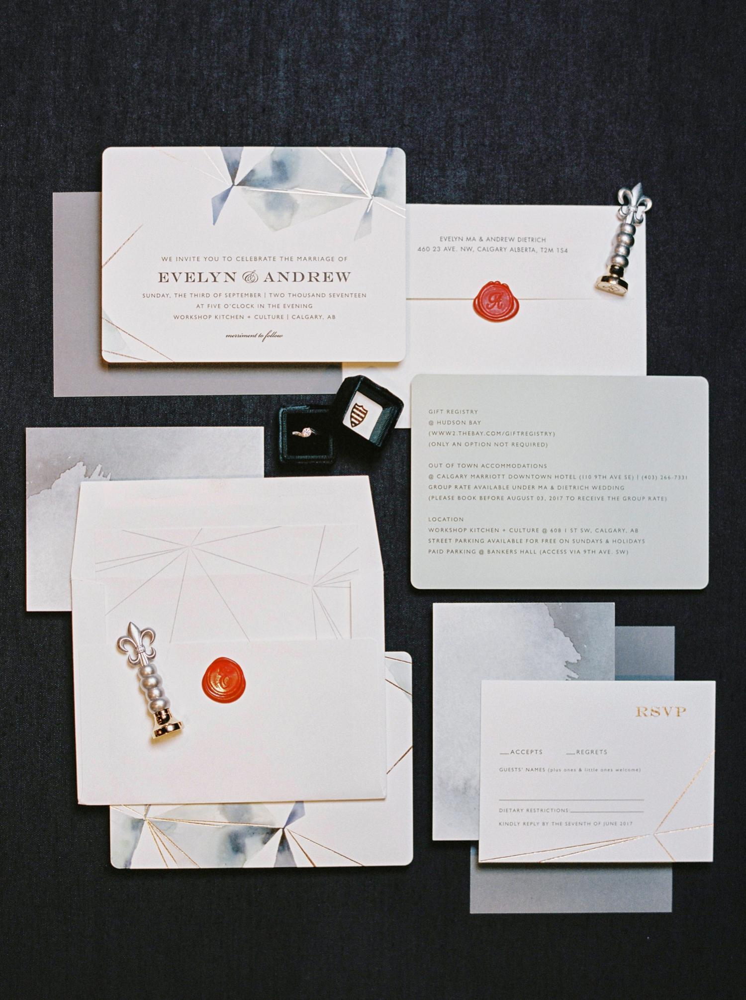 Calgary wedding photographer | wedding invitations | fine art film photography | Calgary Wedding Photographers | Calgary couples photographer | Justine Milton Photography | workshop wedding |