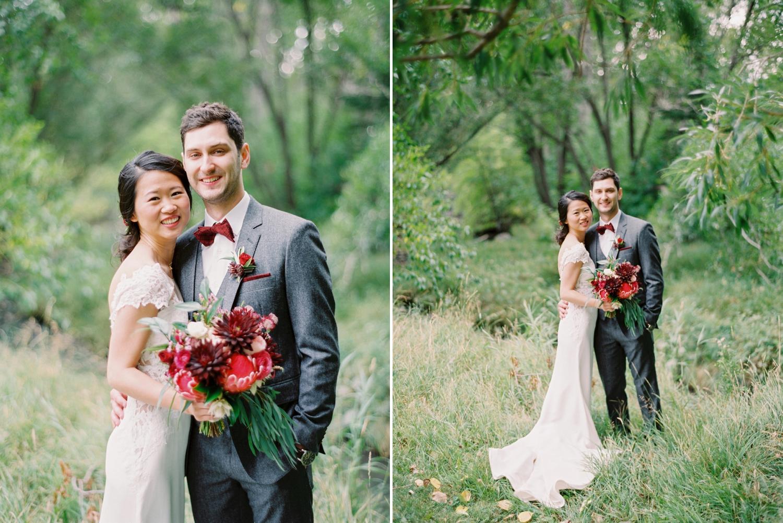 Calgary wedding photographer | fine art film photography | Calgary Wedding Photographers | Calgary couples photographer | Justine Milton Photography | bouquet | couples portrait