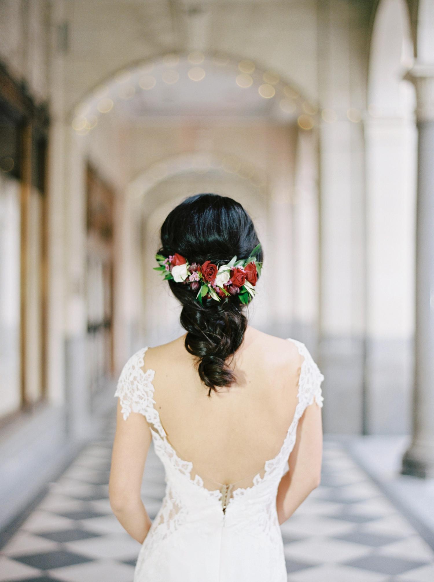 Calgary wedding photographer | fine art film photography | Calgary Wedding Photographers | Justine Milton Photography | workshop wedding | bride hairstyle | wedding dress