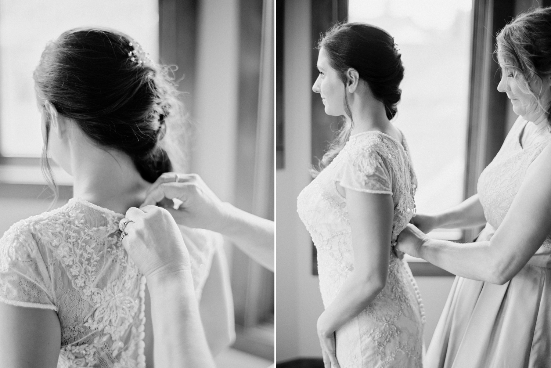 Calgary wedding photographers | wedding dress | fine art film | Justine Milton Photography | wedding inspiration | bride getting ready