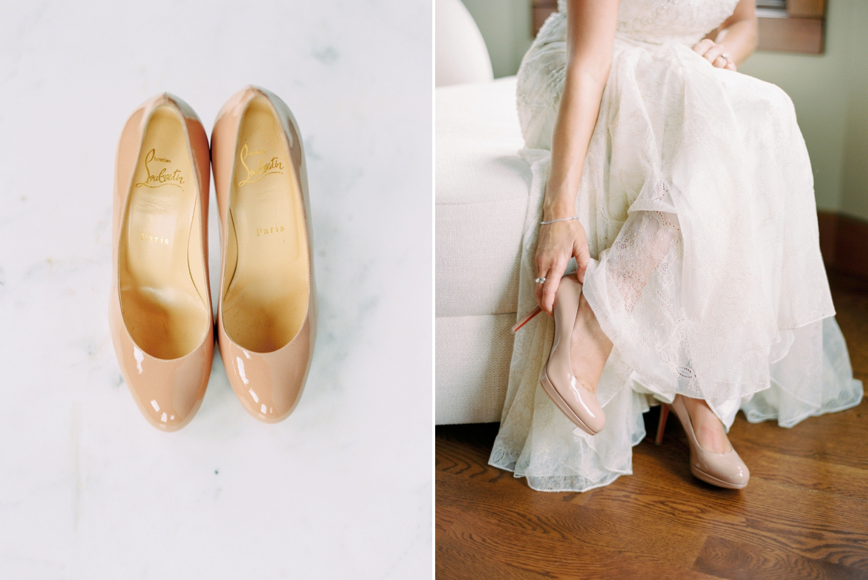 Calgary wedding photographers | wedding dress | fine art film | Justine Milton Photography | wedding inspiration | bride getting ready | wedding shoes